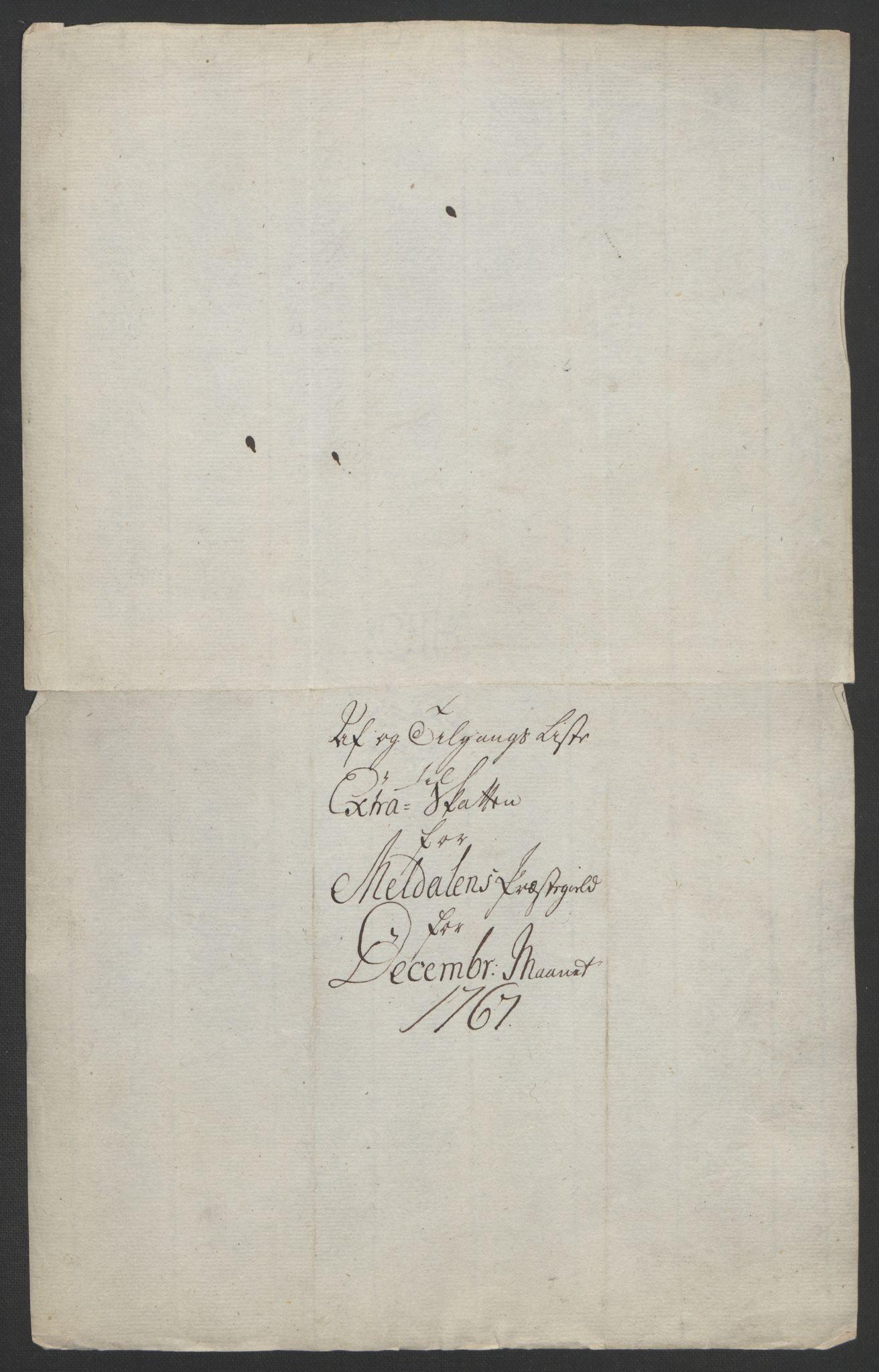 RA, Rentekammeret inntil 1814, Realistisk ordnet avdeling, Ol/L0021: [Gg 10]: Ekstraskatten, 23.09.1762. Orkdal og Gauldal, 1762-1767, s. 752