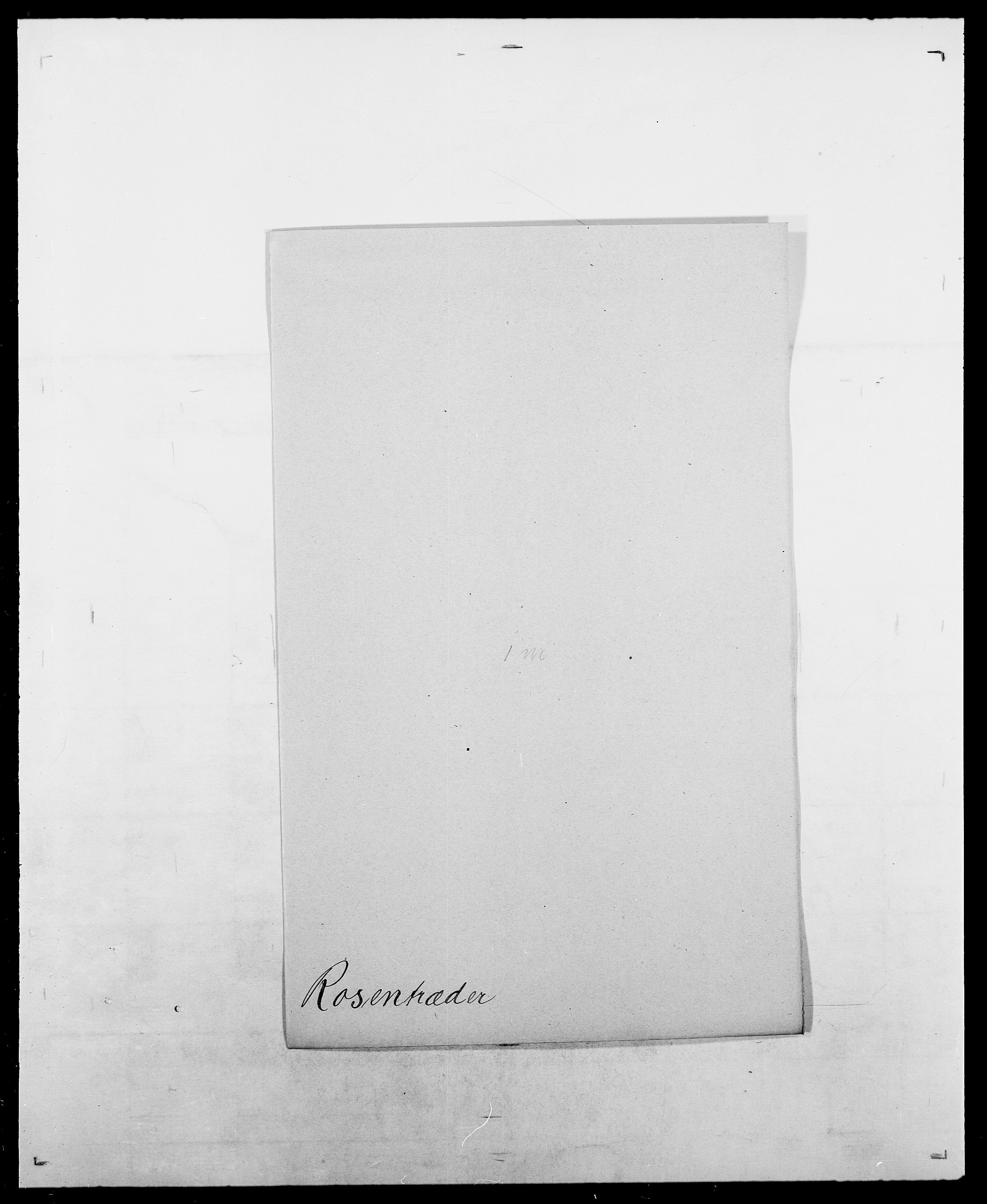 SAO, Delgobe, Charles Antoine - samling, D/Da/L0033: Roald - Røyem, s. 287
