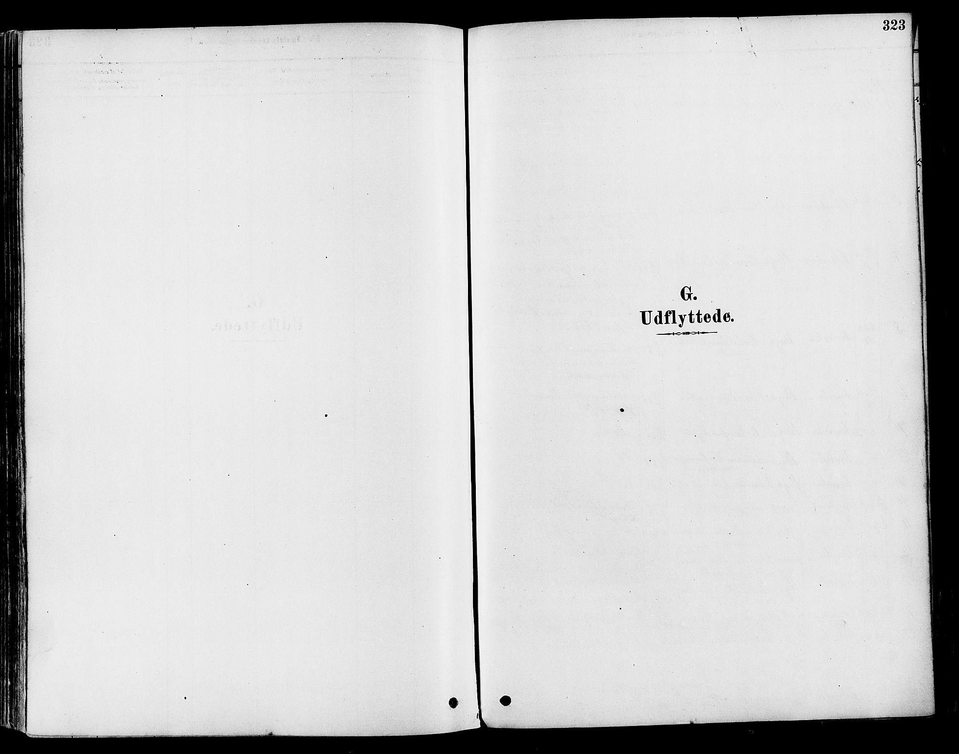 SAH, Vestre Toten prestekontor, H/Ha/Haa/L0009: Ministerialbok nr. 9, 1878-1894, s. 323