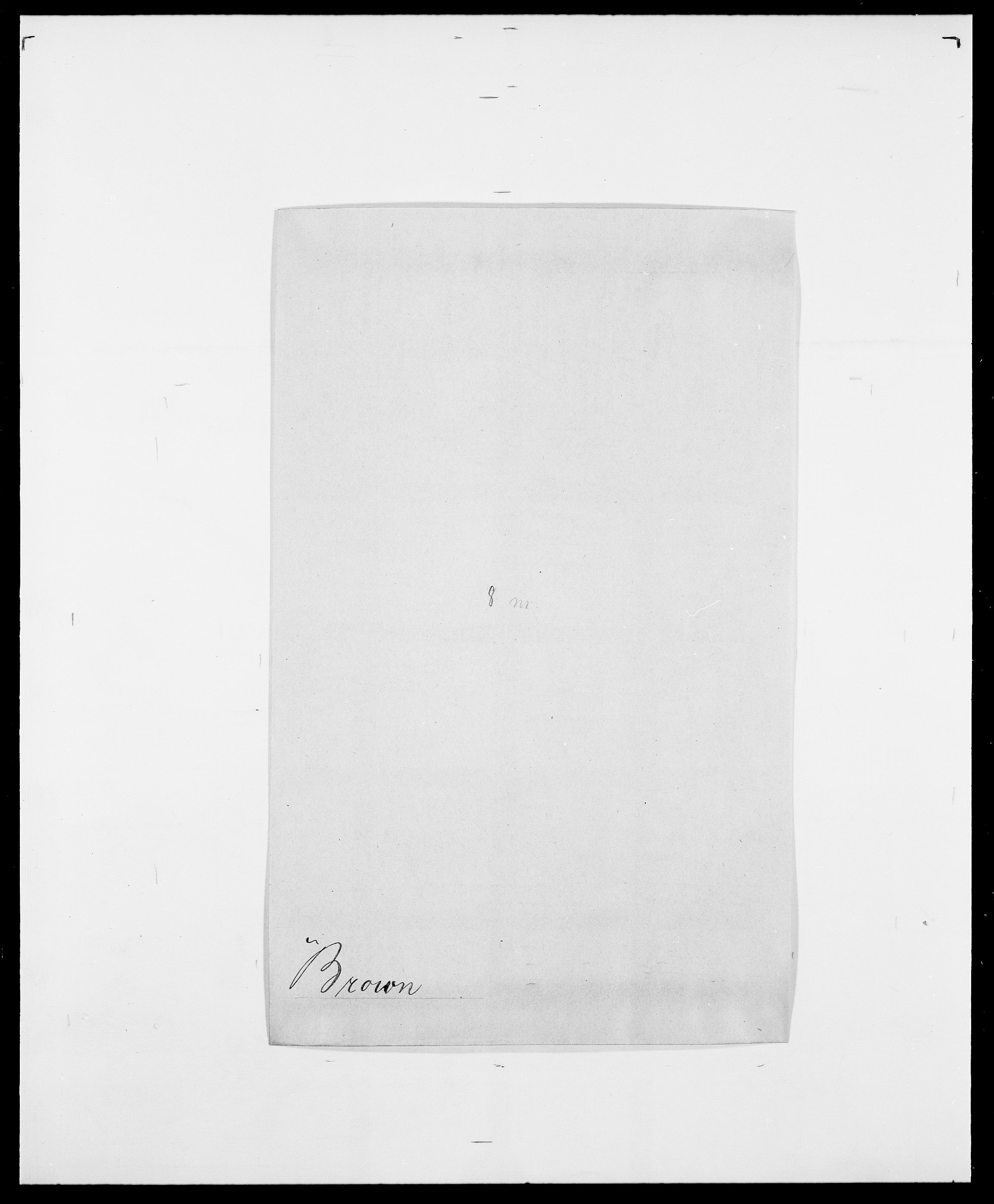 SAO, Delgobe, Charles Antoine - samling, D/Da/L0006: Brambani - Brønø, s. 543