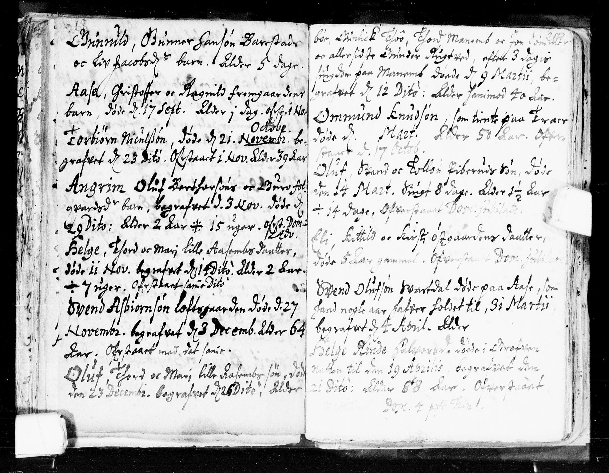 SAKO, Seljord kirkebøker, F/Fa/L0002: Ministerialbok nr. I 2, 1689-1713, s. 268-269