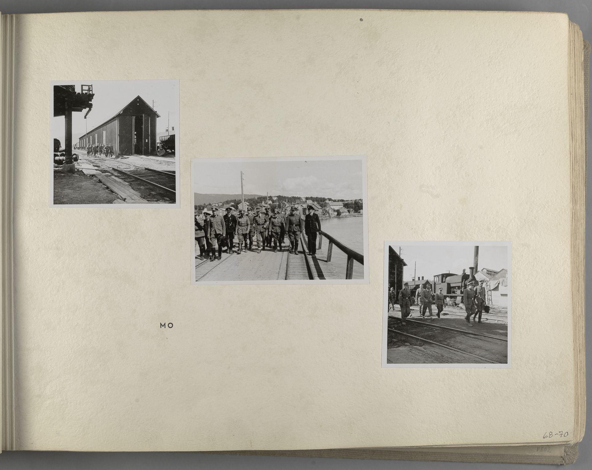 RA, Tyske arkiver, Reichskommissariat, Bildarchiv, U/L0071: Fotoalbum: Mit dem Reichskommissar nach Nordnorwegen und Finnland 10. bis 27. Juli 1942, 1942, s. 27