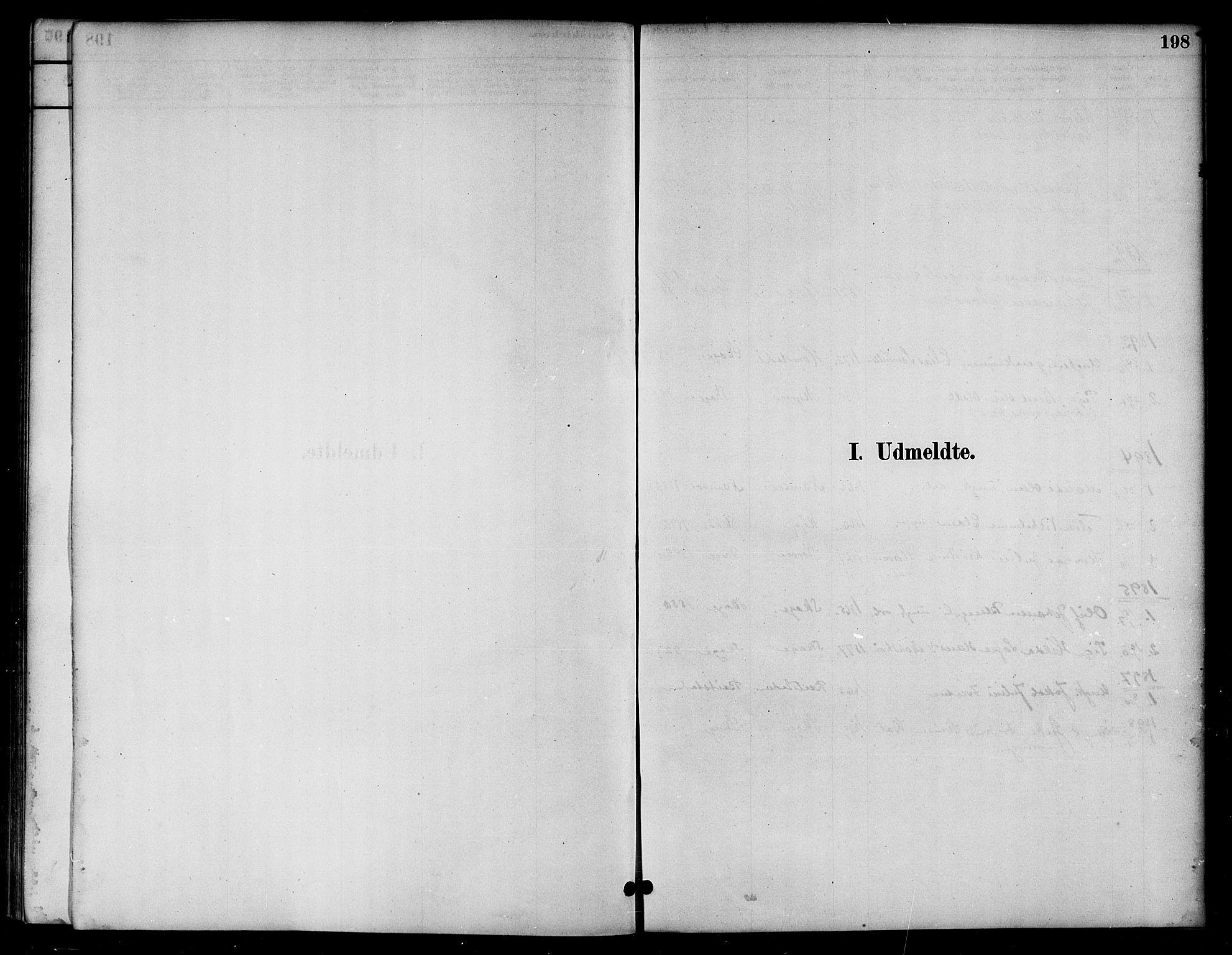 SAT, Ministerialprotokoller, klokkerbøker og fødselsregistre - Nord-Trøndelag, 766/L0563: Ministerialbok nr. 767A01, 1881-1899, s. 198