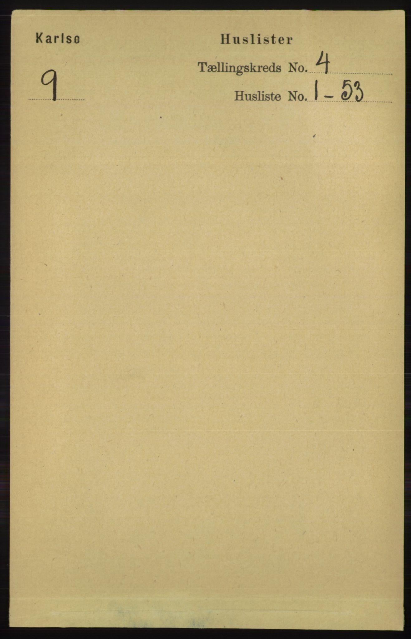RA, Folketelling 1891 for 1936 Karlsøy herred, 1891, s. 772