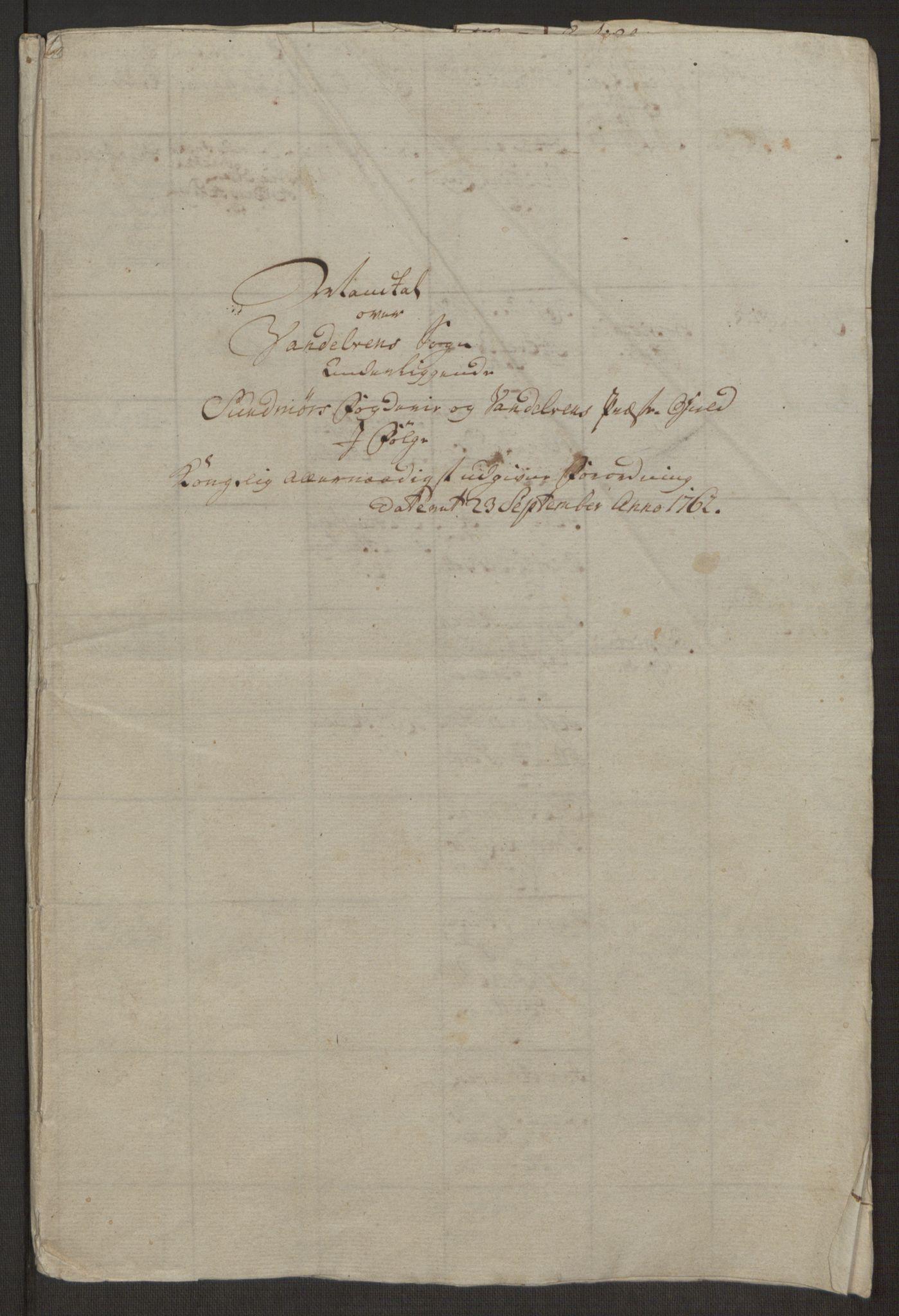 RA, Rentekammeret inntil 1814, Realistisk ordnet avdeling, Ol/L0019: [Gg 10]: Ekstraskatten, 23.09.1762. Sunnmøre, 1762-1763, s. 389