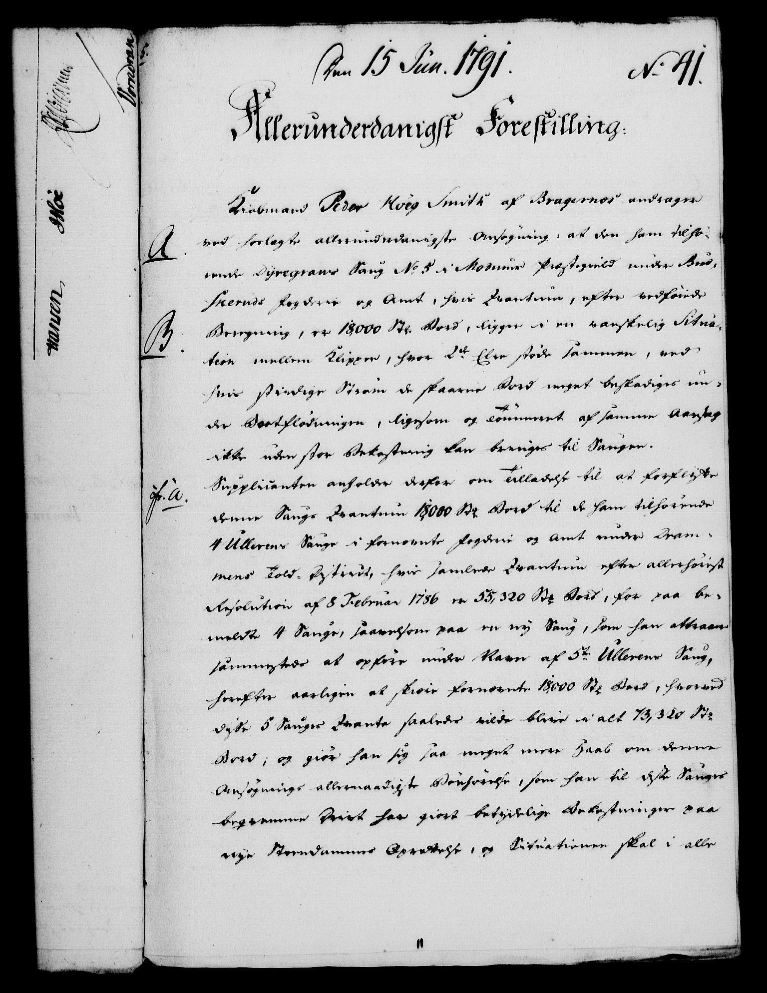 RA, Rentekammeret, Kammerkanselliet, G/Gf/Gfa/L0073: Norsk relasjons- og resolusjonsprotokoll (merket RK 52.73), 1791, s. 220