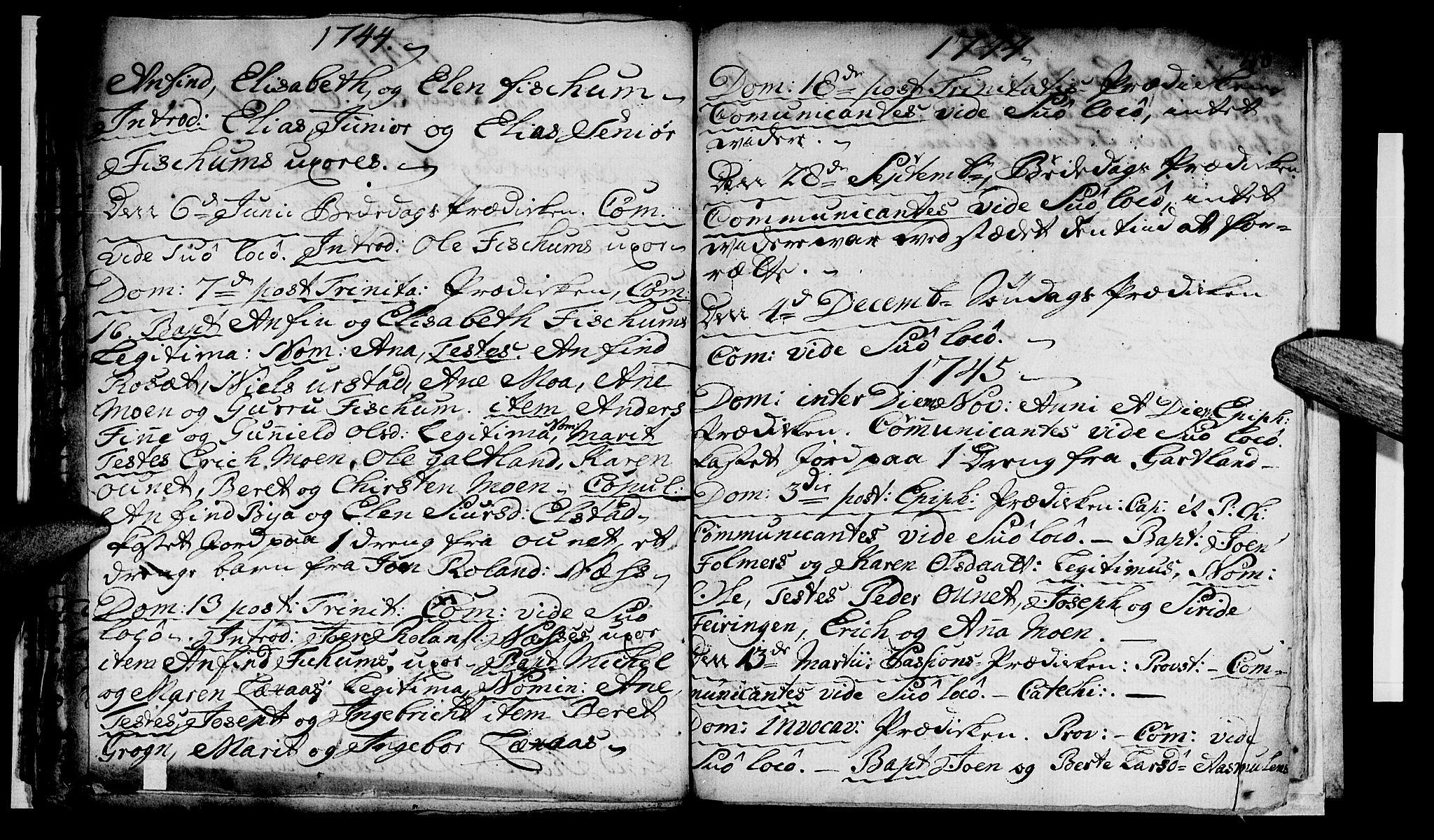 SAT, Ministerialprotokoller, klokkerbøker og fødselsregistre - Nord-Trøndelag, 759/L0525: Ministerialbok nr. 759A01, 1706-1748, s. 20