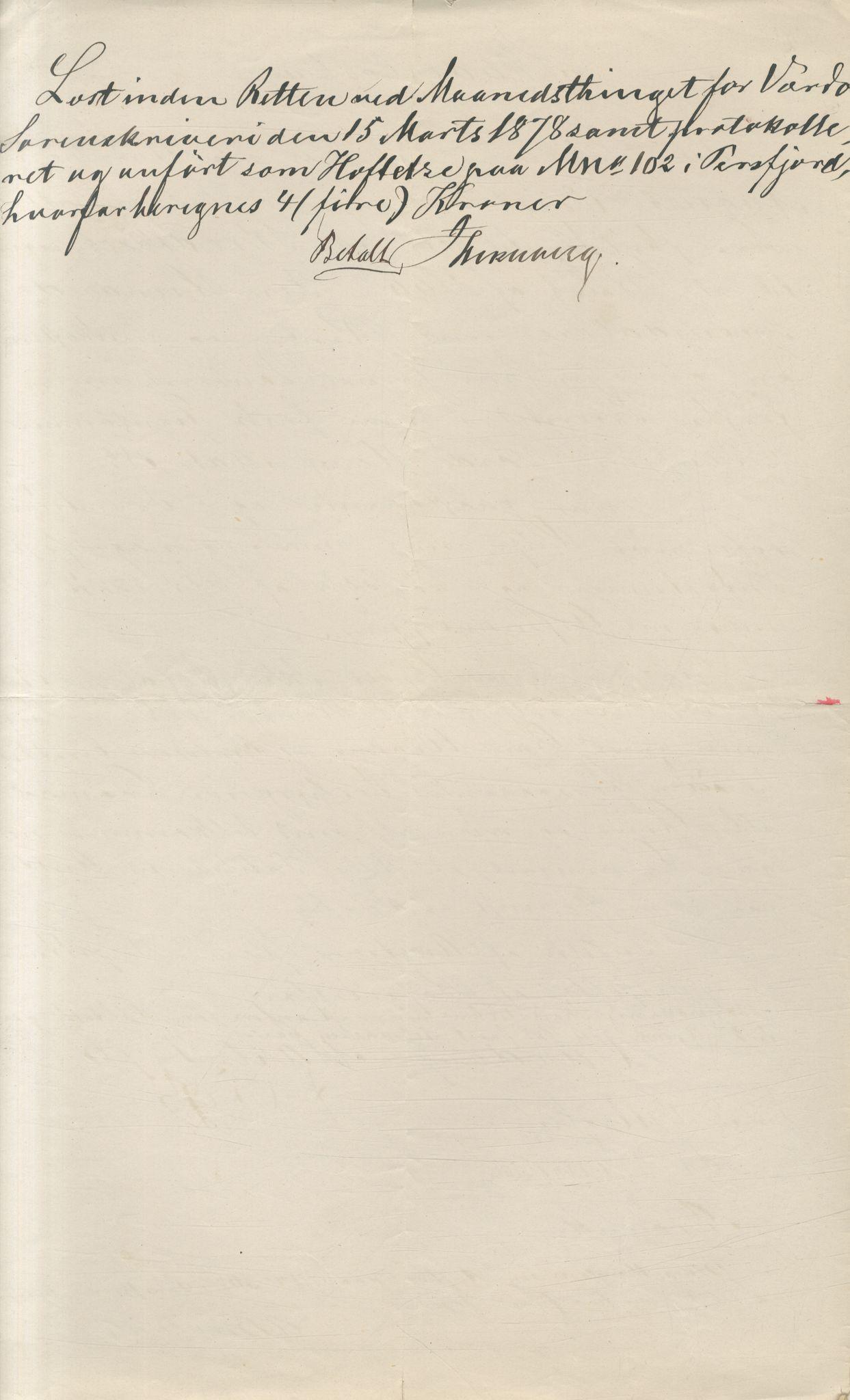 VAMU, Brodtkorb handel A/S, Q/Qb/L0003: Faste eiendommer i Vardø Herred, 1862-1939, s. 164