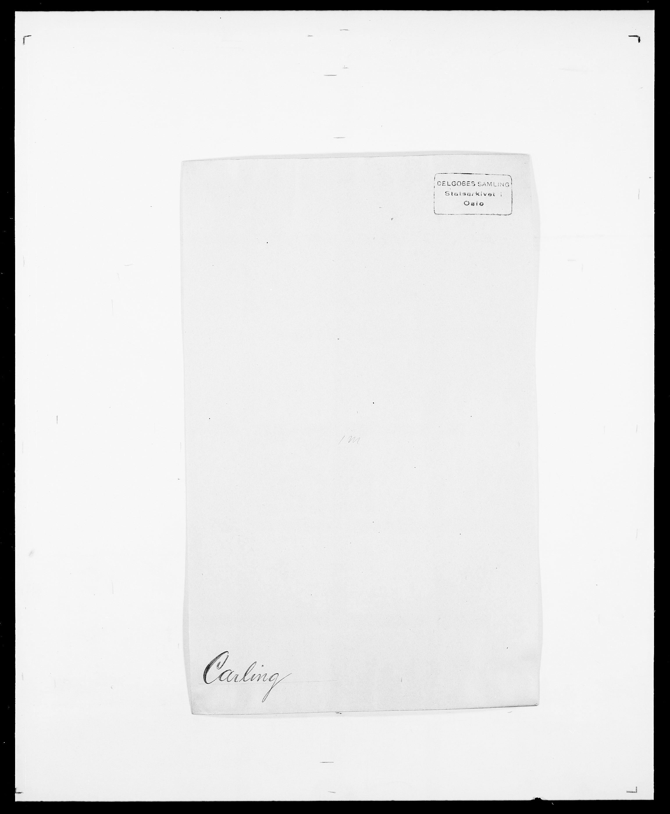 SAO, Delgobe, Charles Antoine - samling, D/Da/L0008: Capjon - Dagenbolt, s. 45