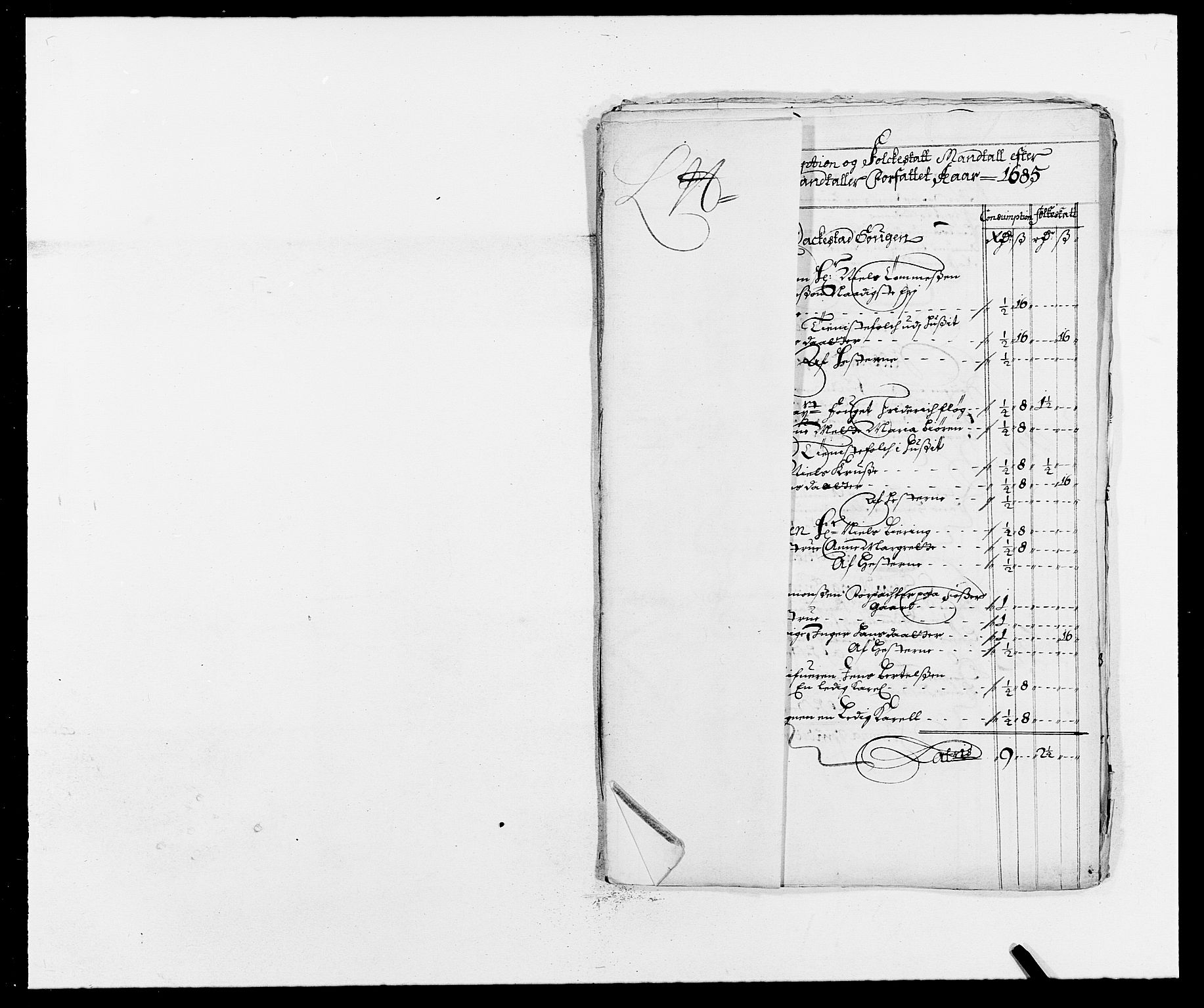 RA, Rentekammeret inntil 1814, Reviderte regnskaper, Fogderegnskap, R05/L0275: Fogderegnskap Rakkestad, 1685-1686, s. 146