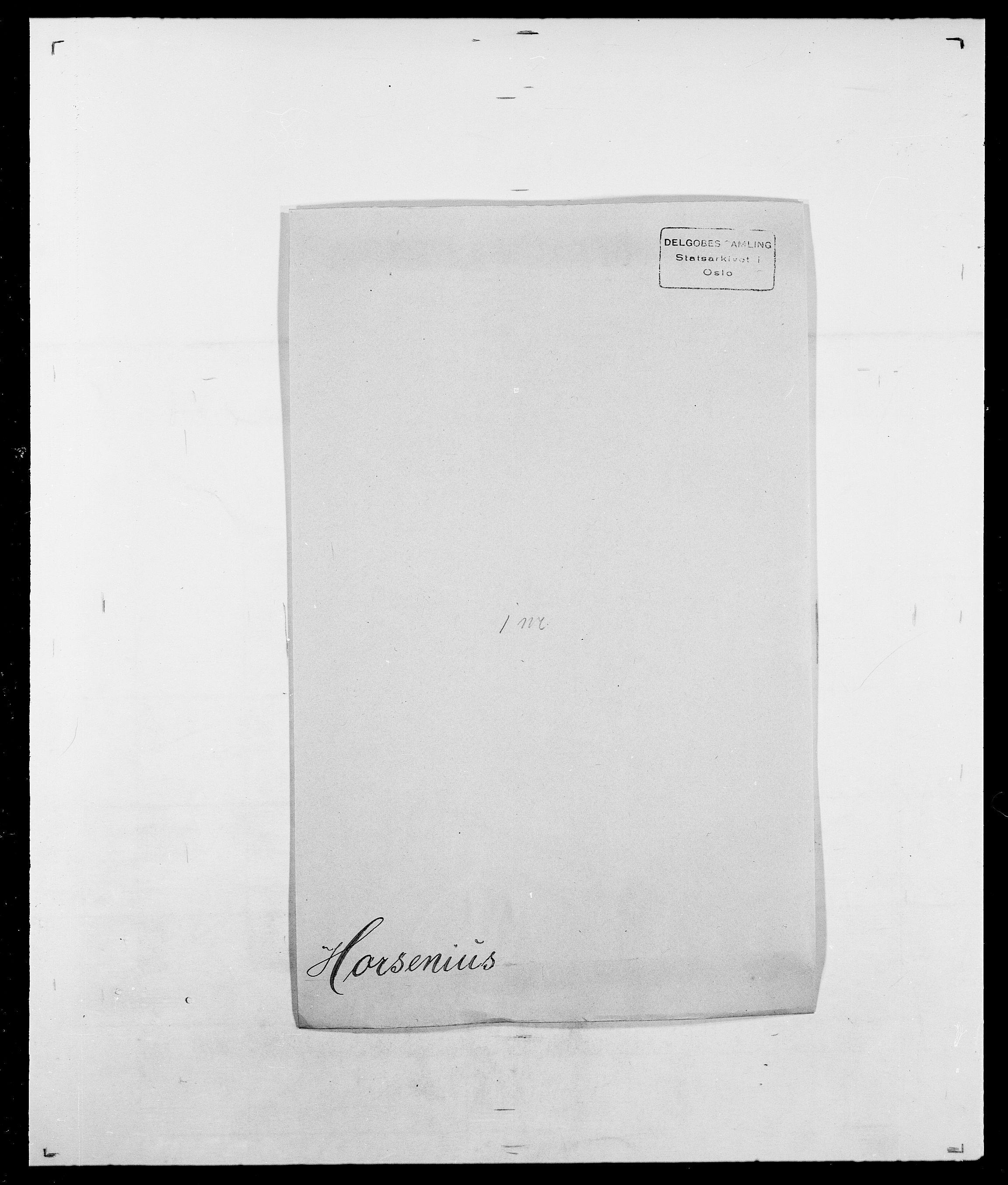 SAO, Delgobe, Charles Antoine - samling, D/Da/L0018: Hoch - Howert, s. 978