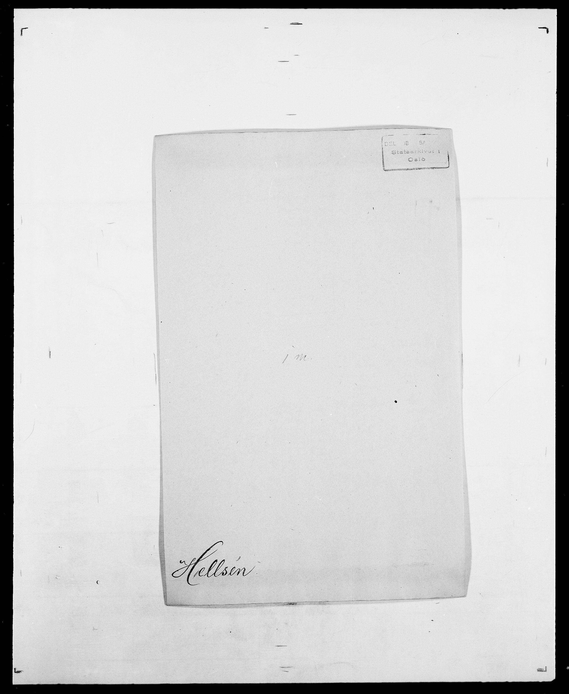 SAO, Delgobe, Charles Antoine - samling, D/Da/L0017: Helander - Hjørne, s. 84