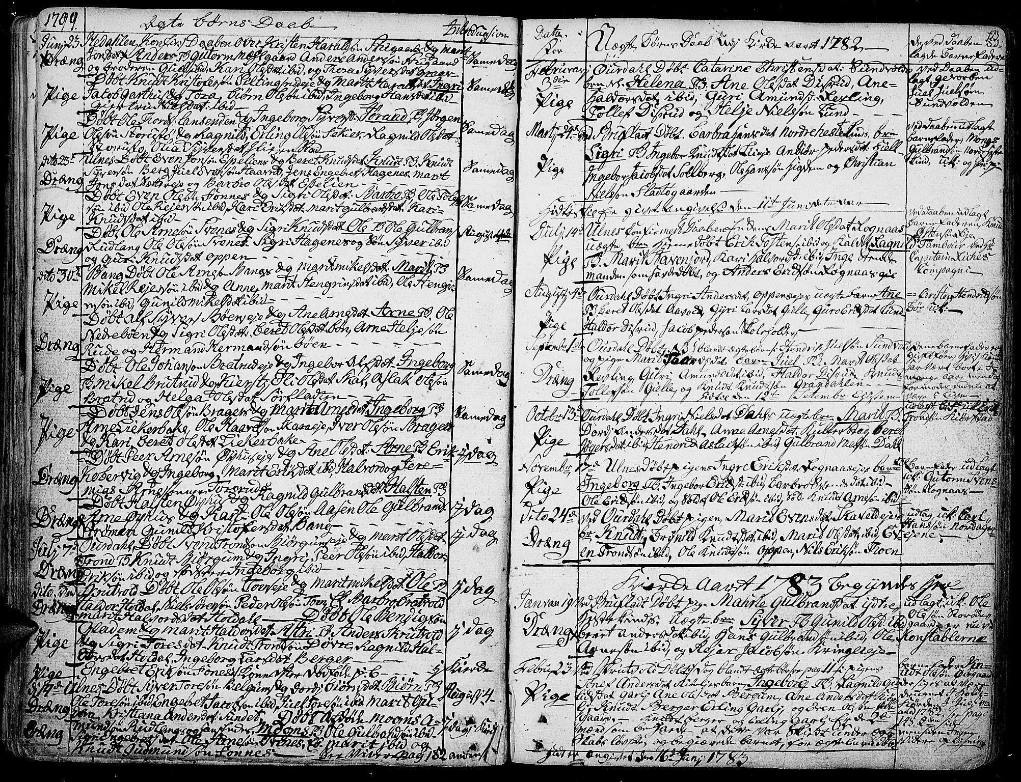 SAH, Aurdal prestekontor, Ministerialbok nr. 6, 1781-1804, s. 123