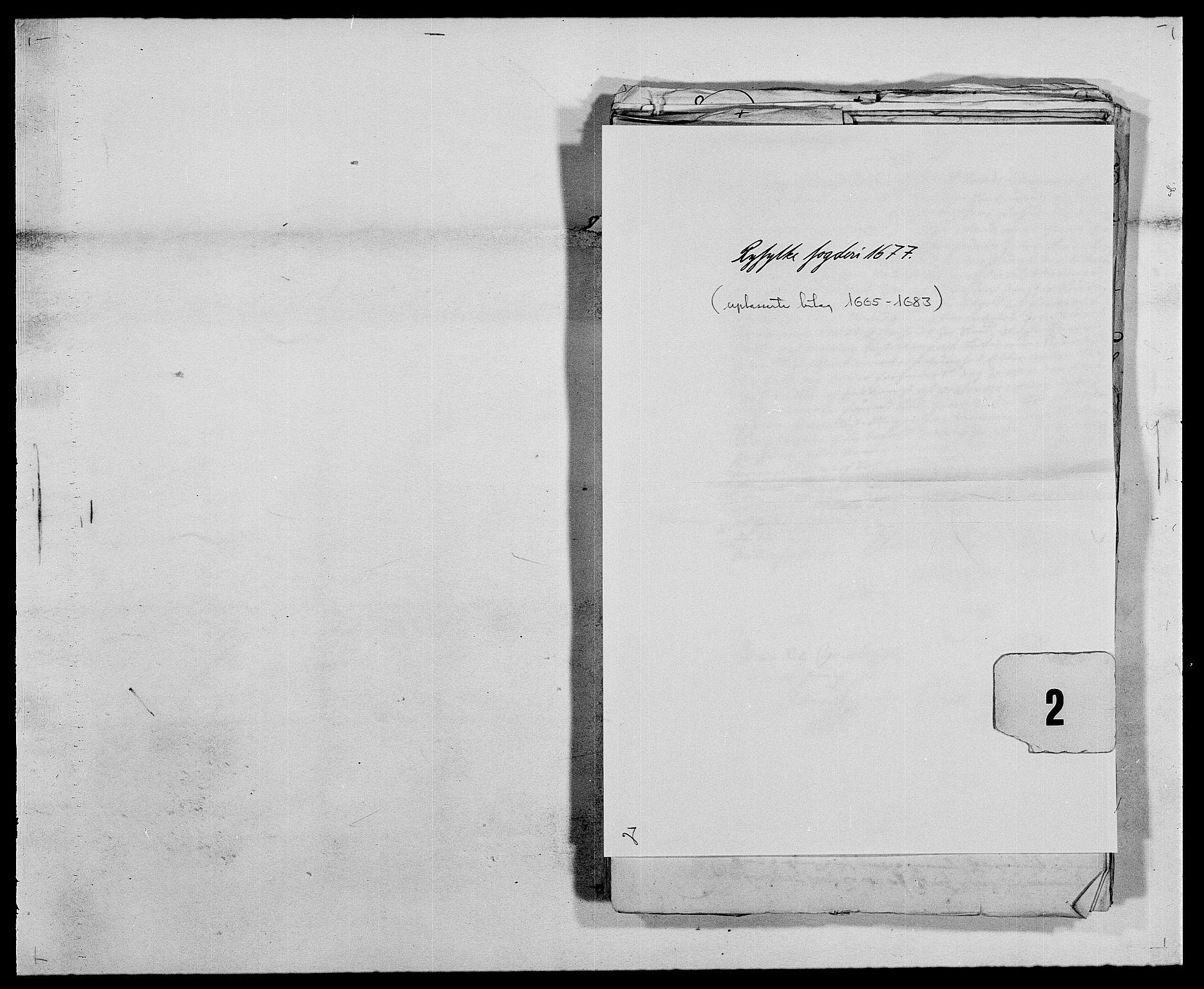 RA, Rentekammeret inntil 1814, Reviderte regnskaper, Fogderegnskap, R47/L2848: Fogderegnskap Ryfylke, 1678, s. 1