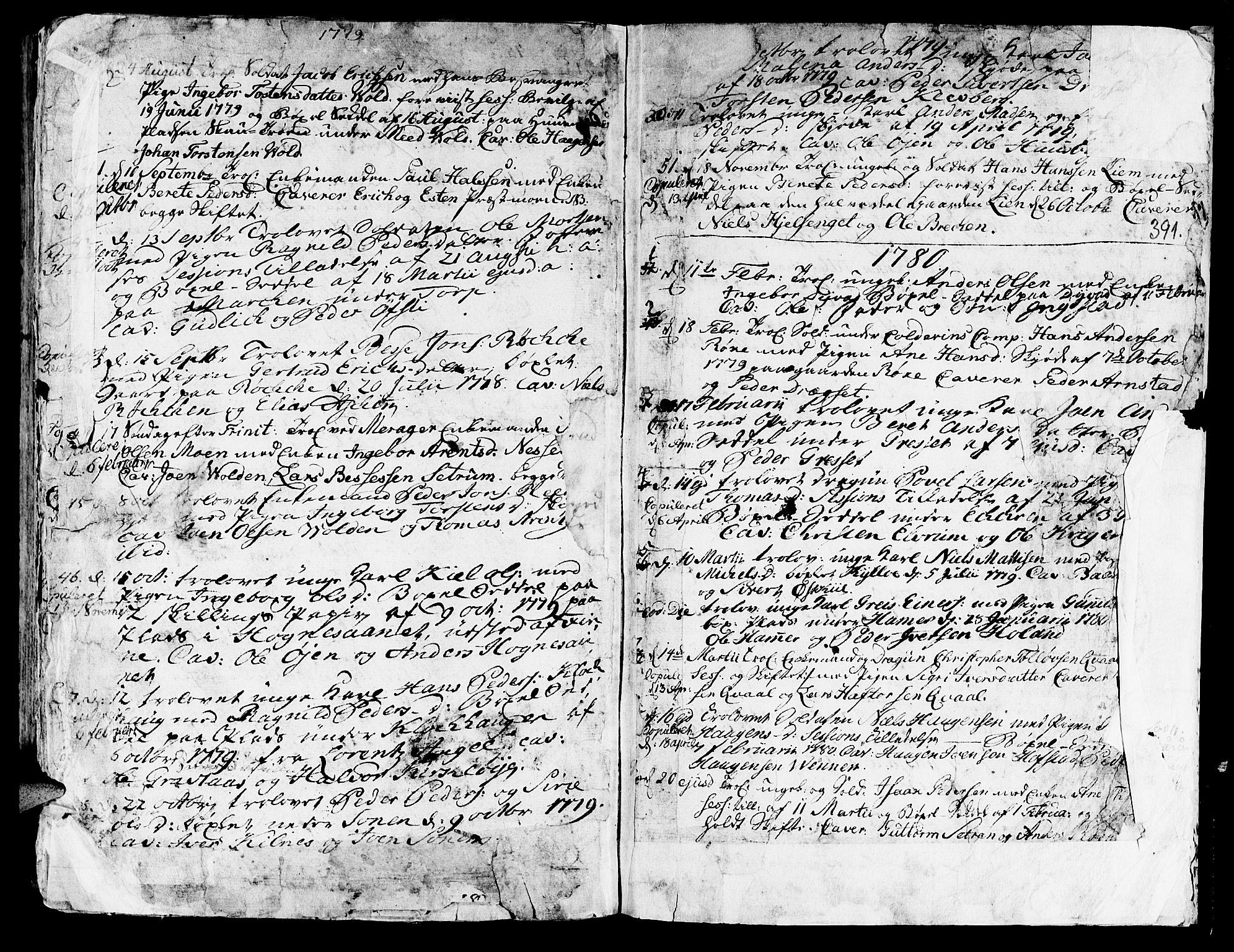 SAT, Ministerialprotokoller, klokkerbøker og fødselsregistre - Nord-Trøndelag, 709/L0057: Ministerialbok nr. 709A05, 1755-1780, s. 391