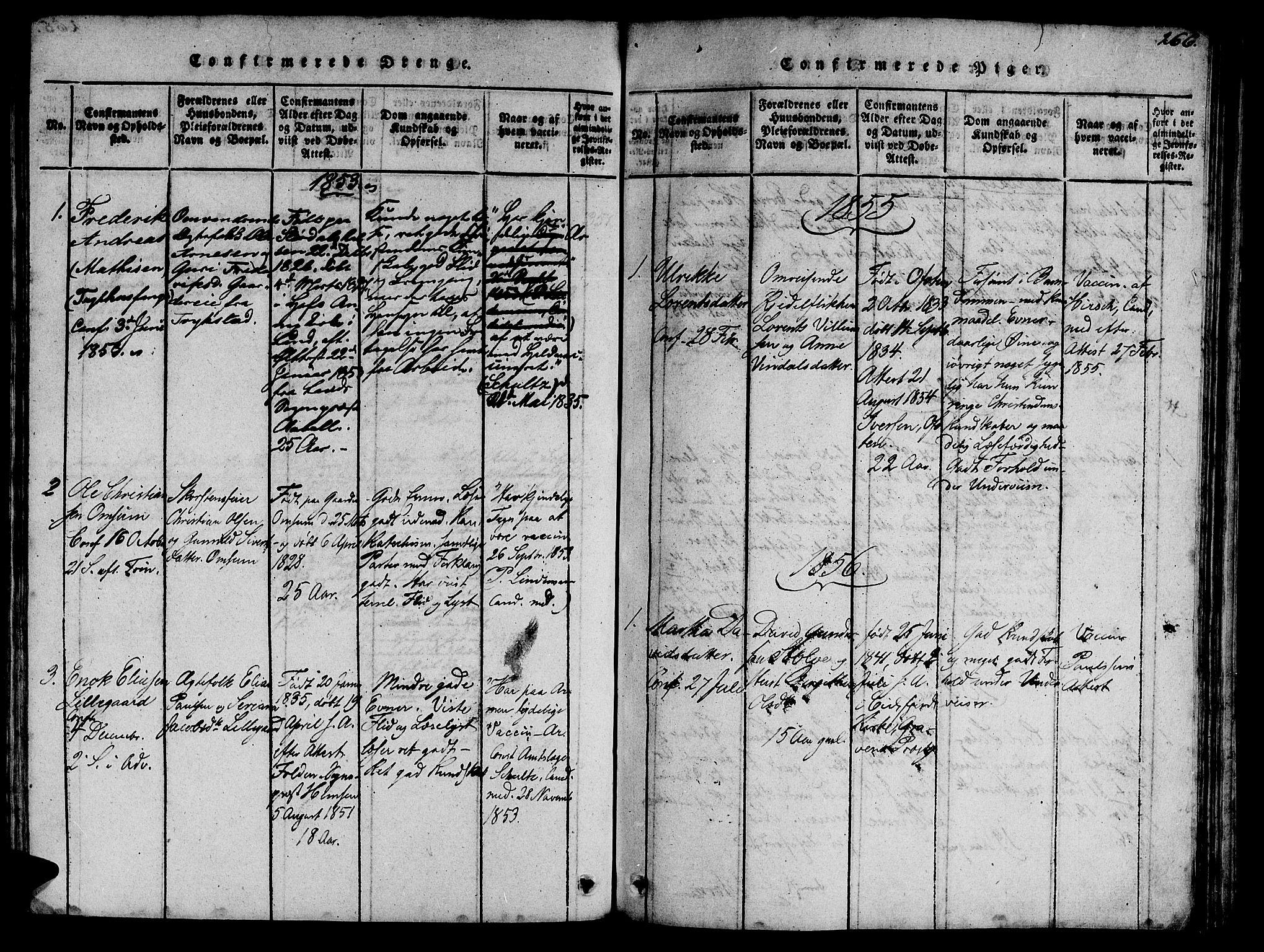 SAT, Ministerialprotokoller, klokkerbøker og fødselsregistre - Sør-Trøndelag, 623/L0478: Klokkerbok nr. 623C01, 1815-1873, s. 266