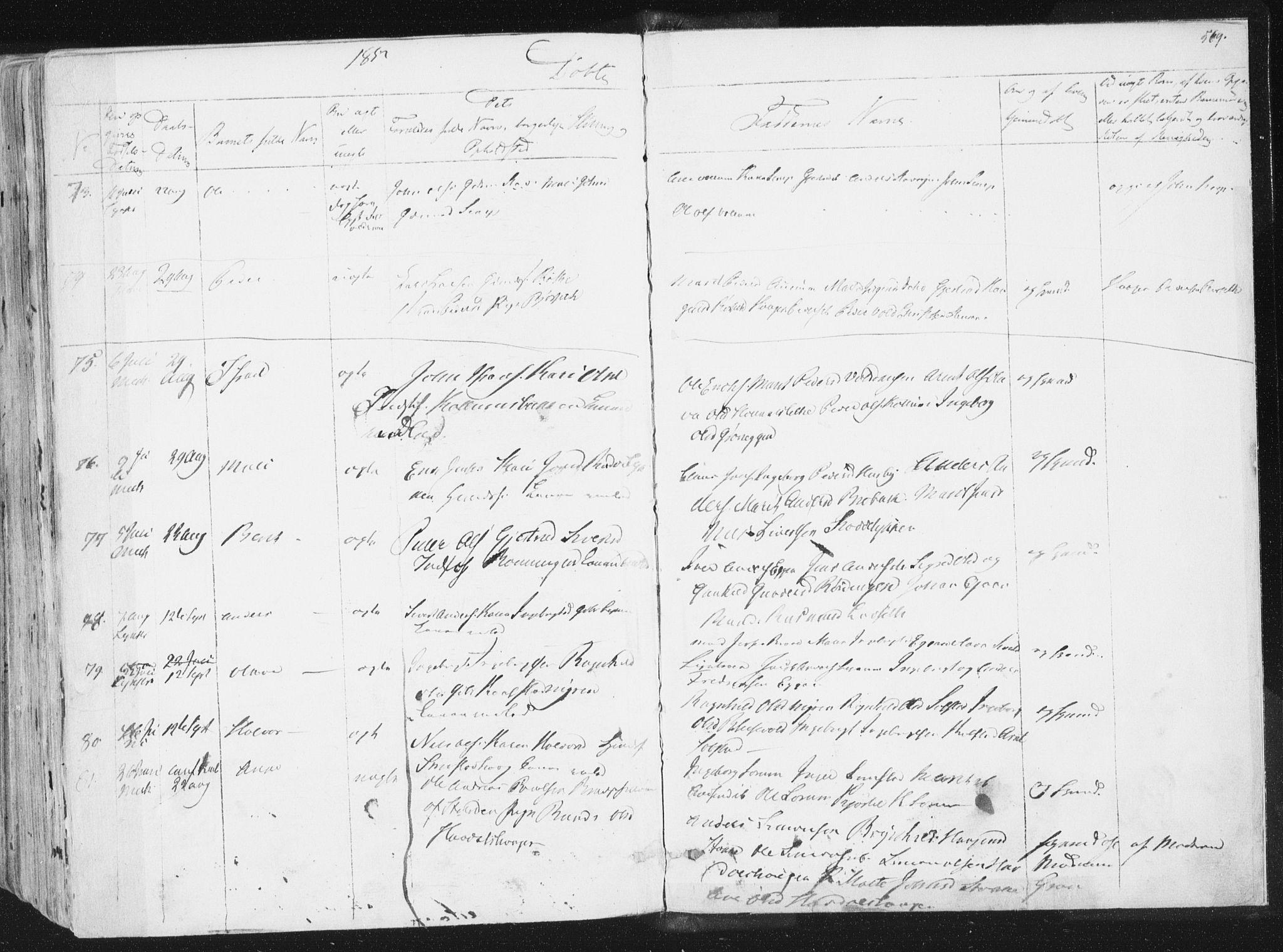 SAT, Ministerialprotokoller, klokkerbøker og fødselsregistre - Sør-Trøndelag, 691/L1074: Ministerialbok nr. 691A06, 1842-1852, s. 569