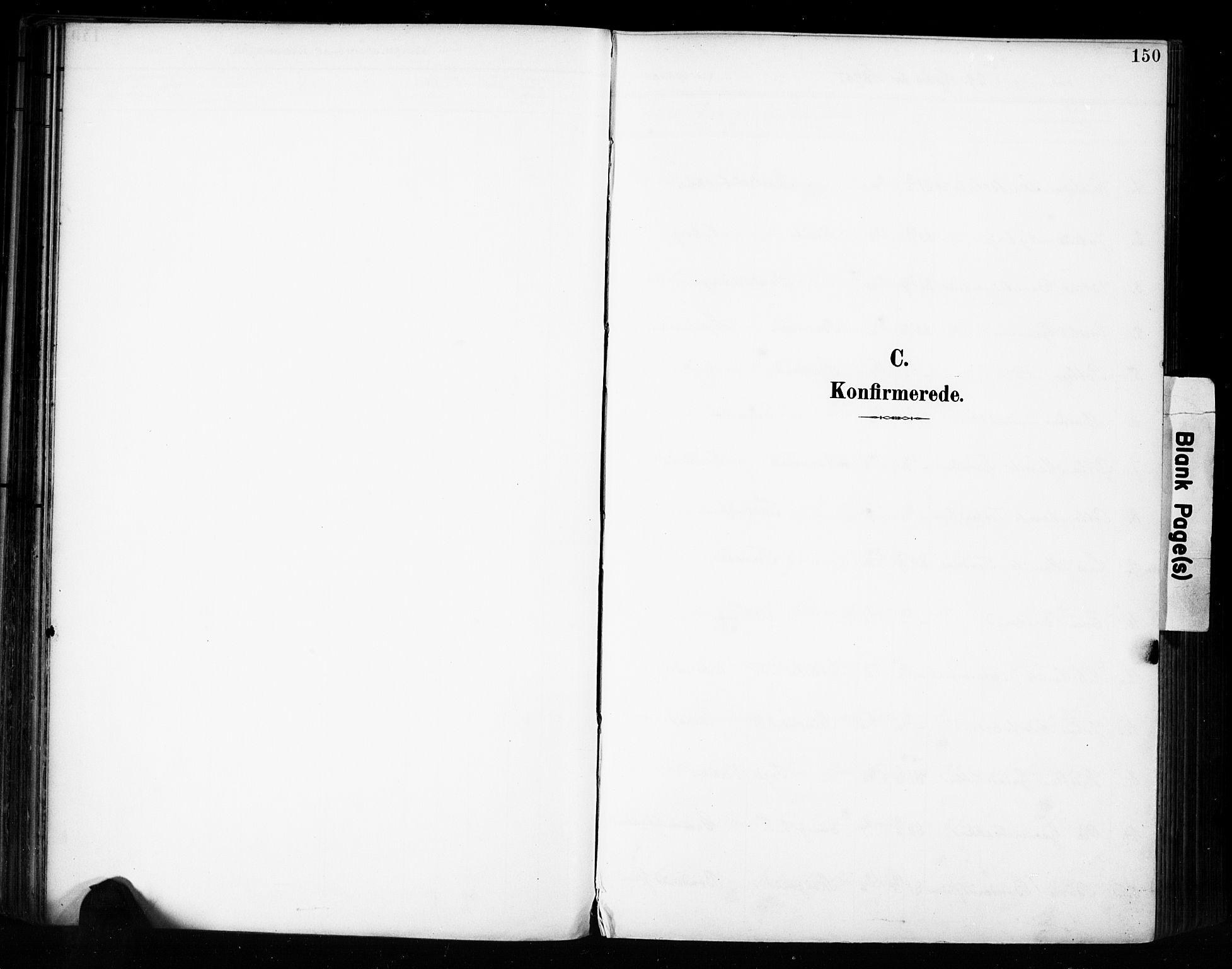SAH, Vestre Toten prestekontor, H/Ha/Haa/L0011: Ministerialbok nr. 11, 1895-1906, s. 150