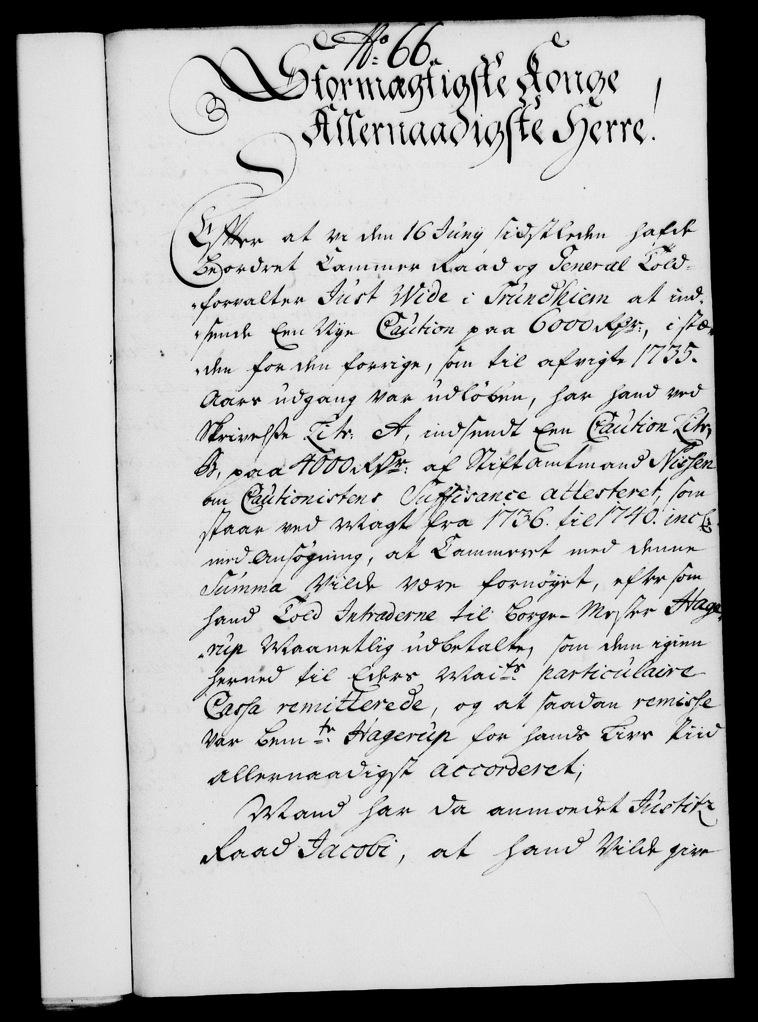 RA, Rentekammeret, Kammerkanselliet, G/Gf/Gfa/L0019: Norsk relasjons- og resolusjonsprotokoll (merket RK 52.19), 1736, s. 457