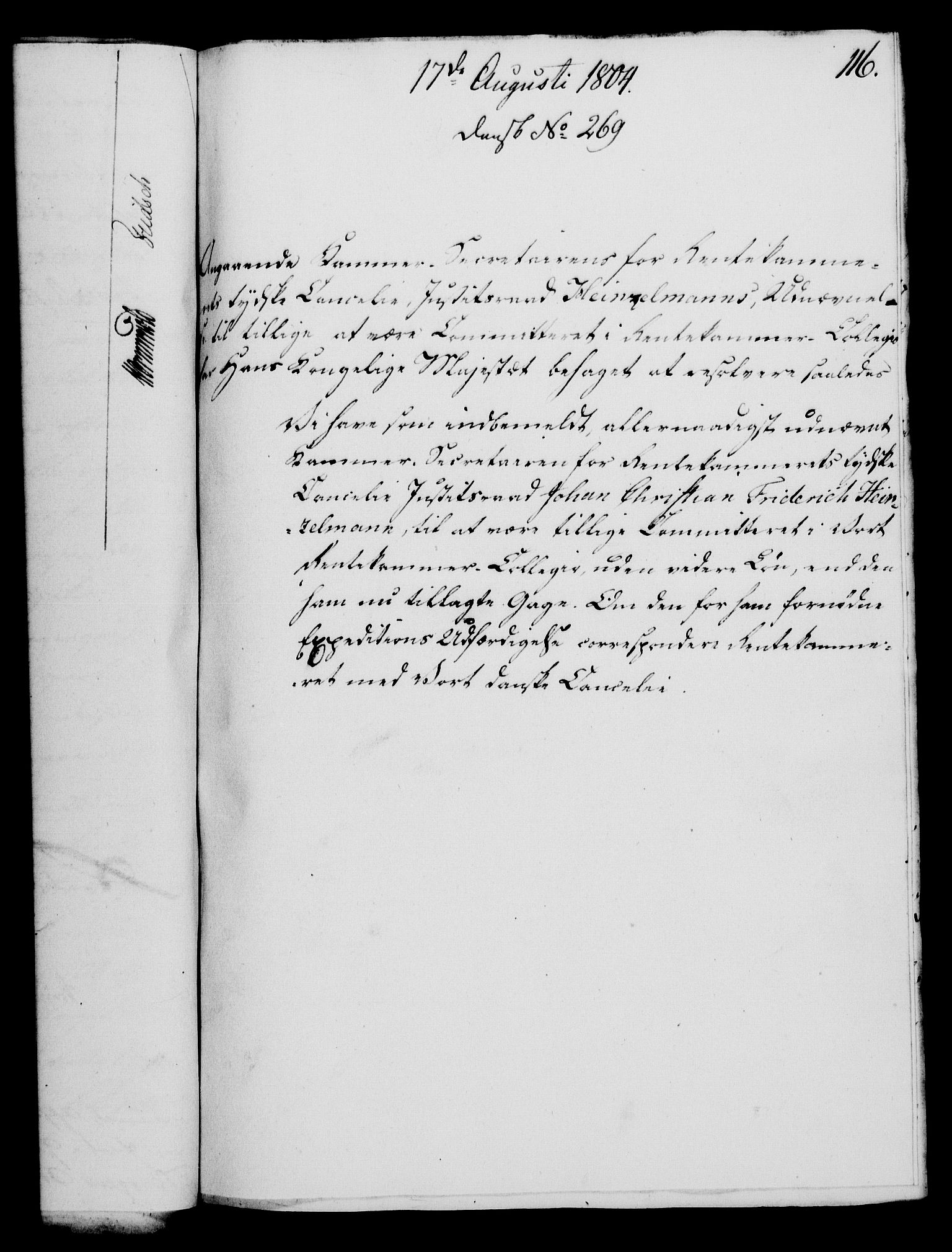 RA, Rentekammeret, Kammerkanselliet, G/Gf/Gfa/L0086: Norsk relasjons- og resolusjonsprotokoll (merket RK 52.86), 1804, s. 667