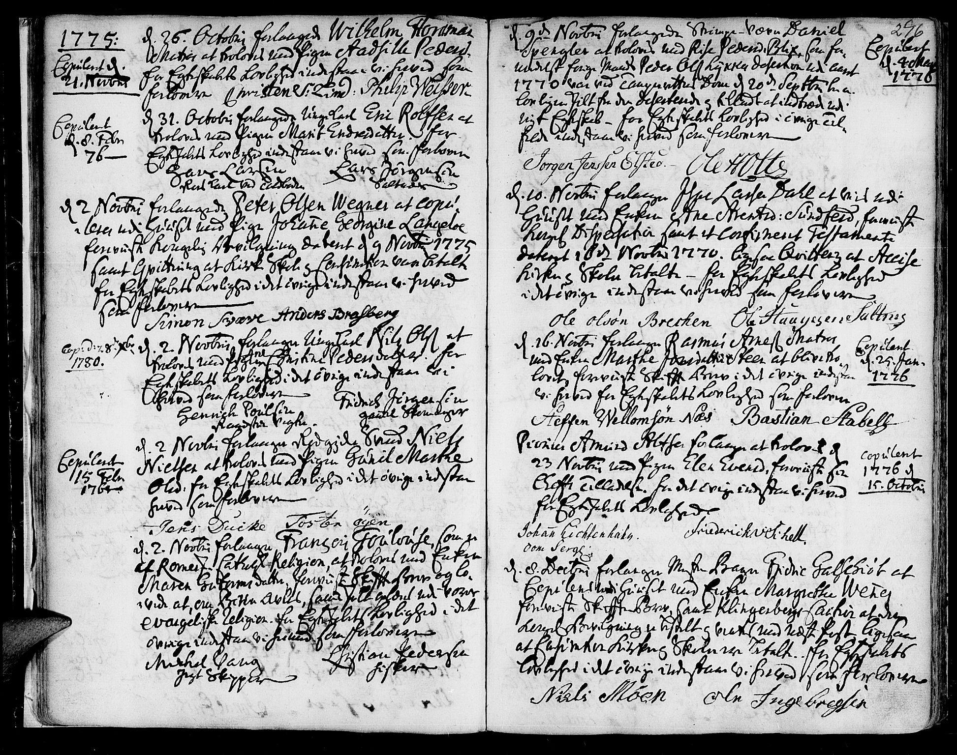 SAT, Ministerialprotokoller, klokkerbøker og fødselsregistre - Sør-Trøndelag, 601/L0038: Ministerialbok nr. 601A06, 1766-1877, s. 296