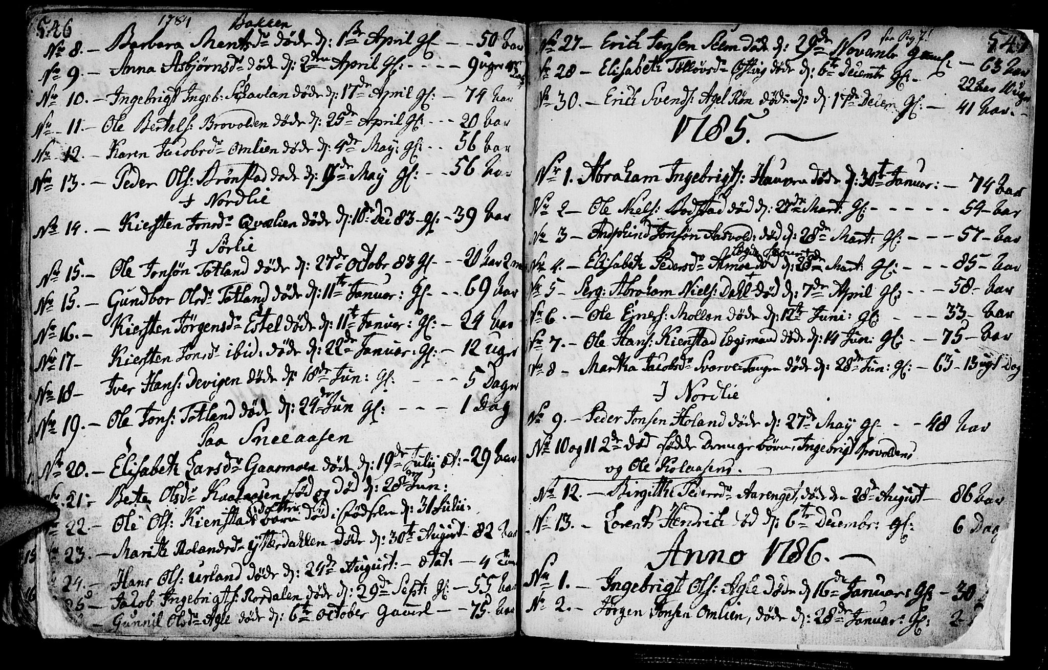 SAT, Ministerialprotokoller, klokkerbøker og fødselsregistre - Nord-Trøndelag, 749/L0467: Ministerialbok nr. 749A01, 1733-1787, s. 546-547