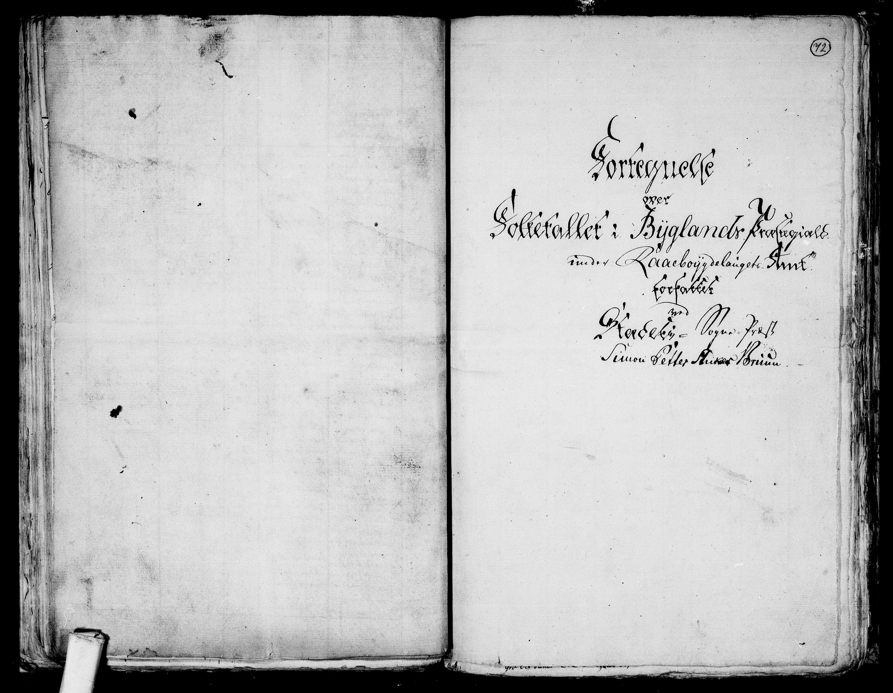RA, Folketelling 1801 for 0938P Bygland prestegjeld, 1801, s. 71b-72a