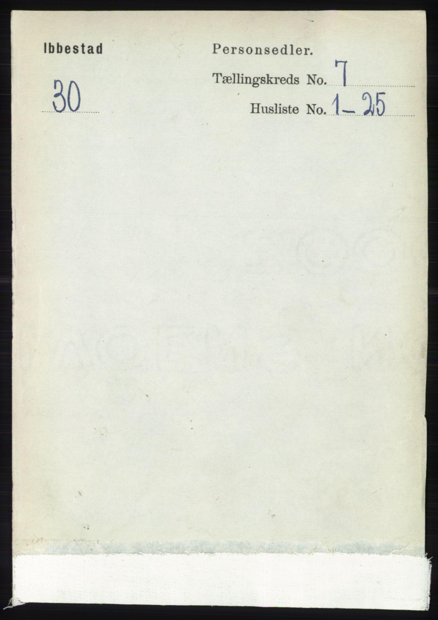 RA, Folketelling 1891 for 1917 Ibestad herred, 1891, s. 4191
