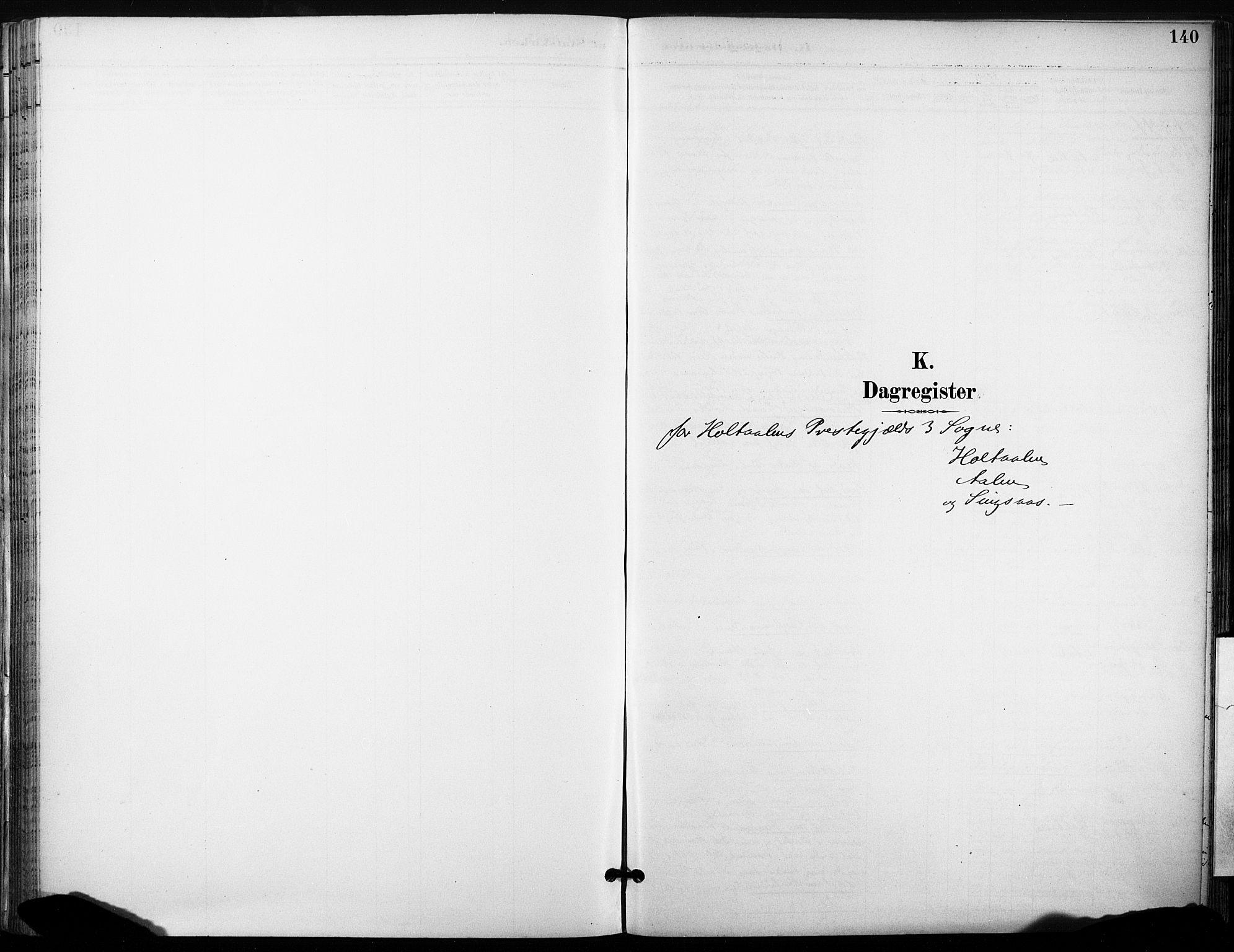 SAT, Ministerialprotokoller, klokkerbøker og fødselsregistre - Sør-Trøndelag, 685/L0973: Ministerialbok nr. 685A10, 1891-1907, s. 140