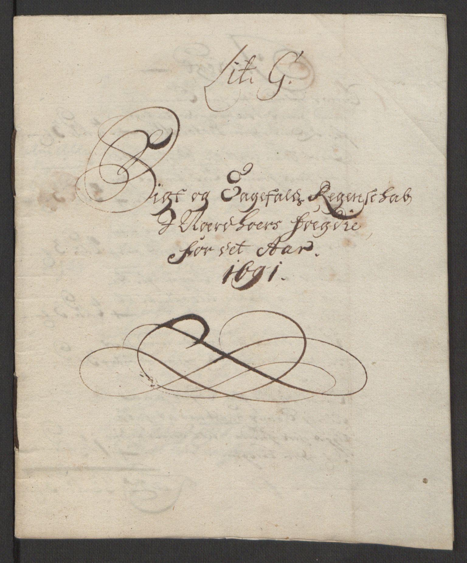 RA, Rentekammeret inntil 1814, Reviderte regnskaper, Fogderegnskap, R51/L3181: Fogderegnskap Nordhordland og Voss, 1691-1692, s. 161