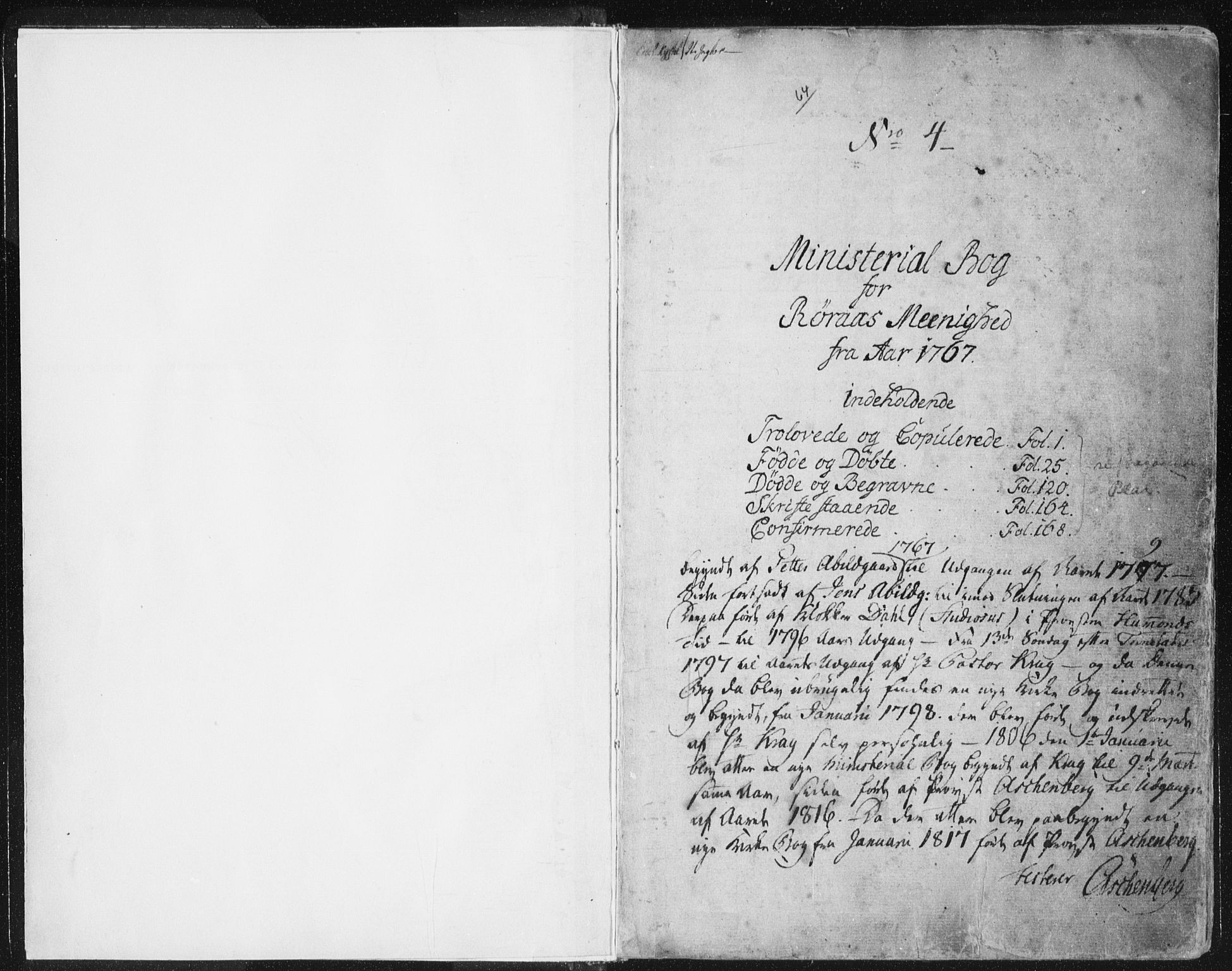 SAT, Ministerialprotokoller, klokkerbøker og fødselsregistre - Sør-Trøndelag, 681/L0926: Ministerialbok nr. 681A04, 1767-1797