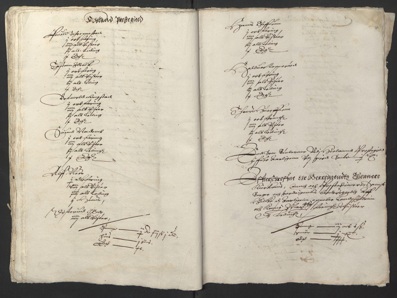RA, Stattholderembetet 1572-1771, Ek/L0001: Jordebøker før 1624 og til utligning av garnisonsskatt 1624-1626:, 1624-1625, s. 161