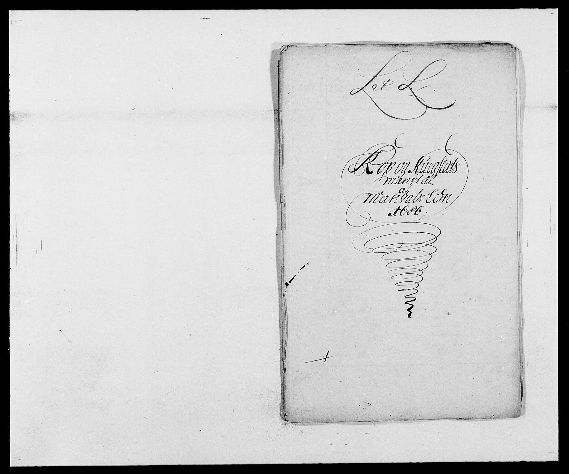 RA, Rentekammeret inntil 1814, Reviderte regnskaper, Fogderegnskap, R42/L2542: Mandal fogderi, 1685-1687, s. 154