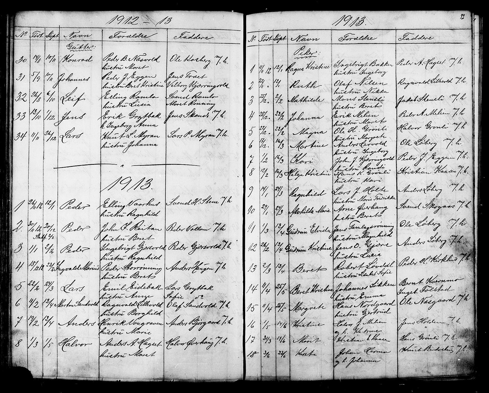 SAT, Ministerialprotokoller, klokkerbøker og fødselsregistre - Sør-Trøndelag, 686/L0985: Klokkerbok nr. 686C01, 1871-1933, s. 92