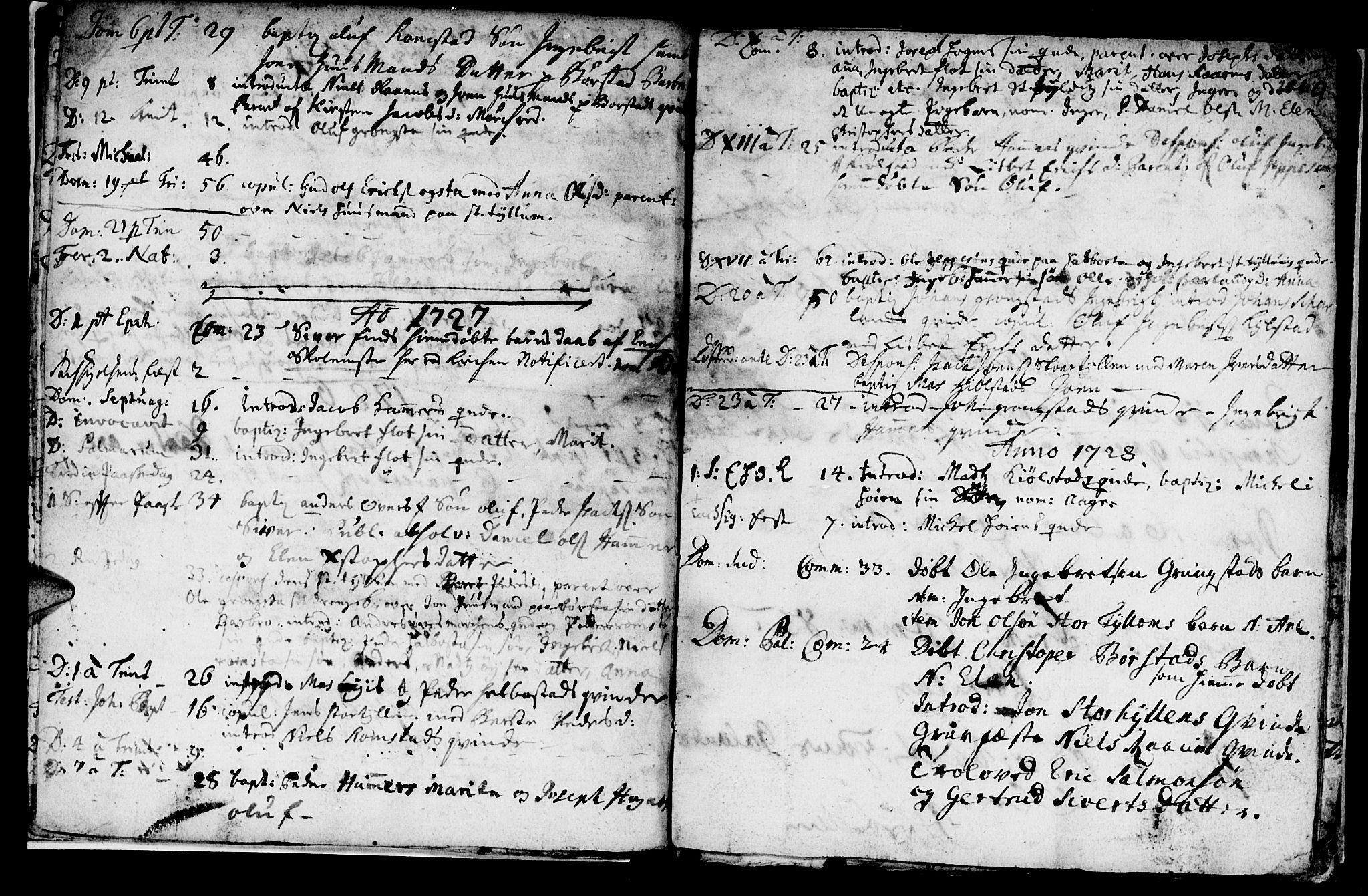 SAT, Ministerialprotokoller, klokkerbøker og fødselsregistre - Nord-Trøndelag, 765/L0560: Ministerialbok nr. 765A01, 1706-1748, s. 9