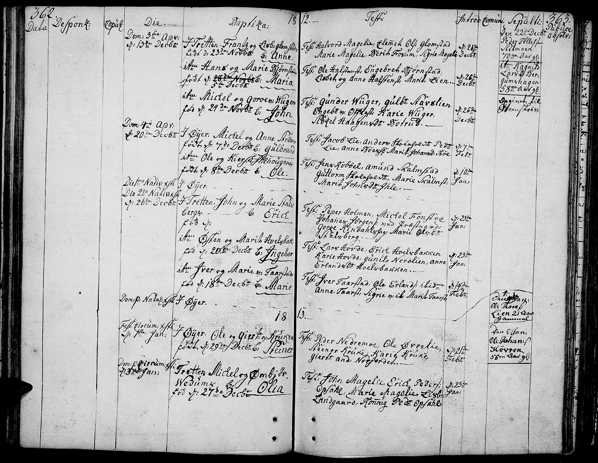 SAH, Øyer prestekontor, Ministerialbok nr. 3, 1784-1824, s. 362-363