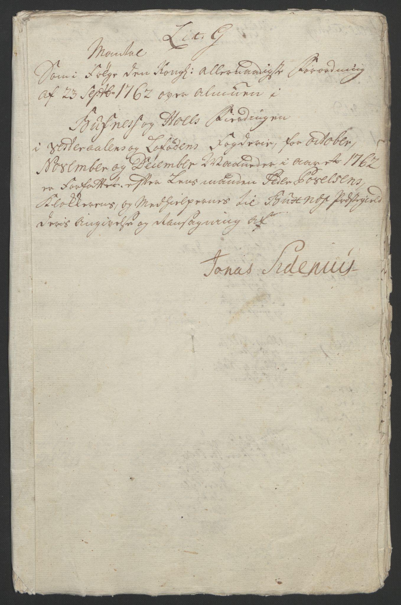 RA, Rentekammeret inntil 1814, Reviderte regnskaper, Fogderegnskap, R67/L4747: Ekstraskatten Vesterålen, Andenes og Lofoten, 1762-1766, s. 136