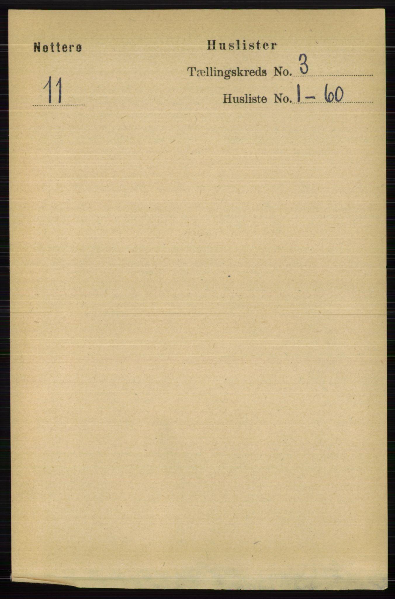 RA, Folketelling 1891 for 0722 Nøtterøy herred, 1891, s. 1479