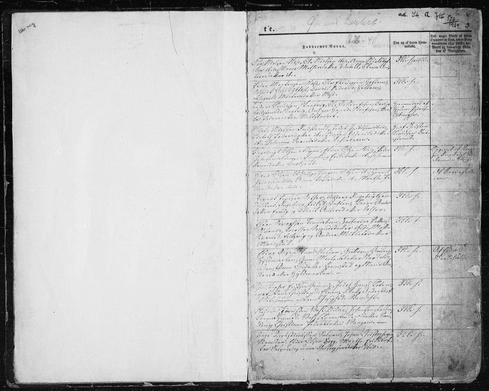 SAT, Ministerialprotokoller, klokkerbøker og fødselsregistre - Sør-Trøndelag, 659/L0735: Ministerialbok nr. 659A05, 1826-1841, s. 3
