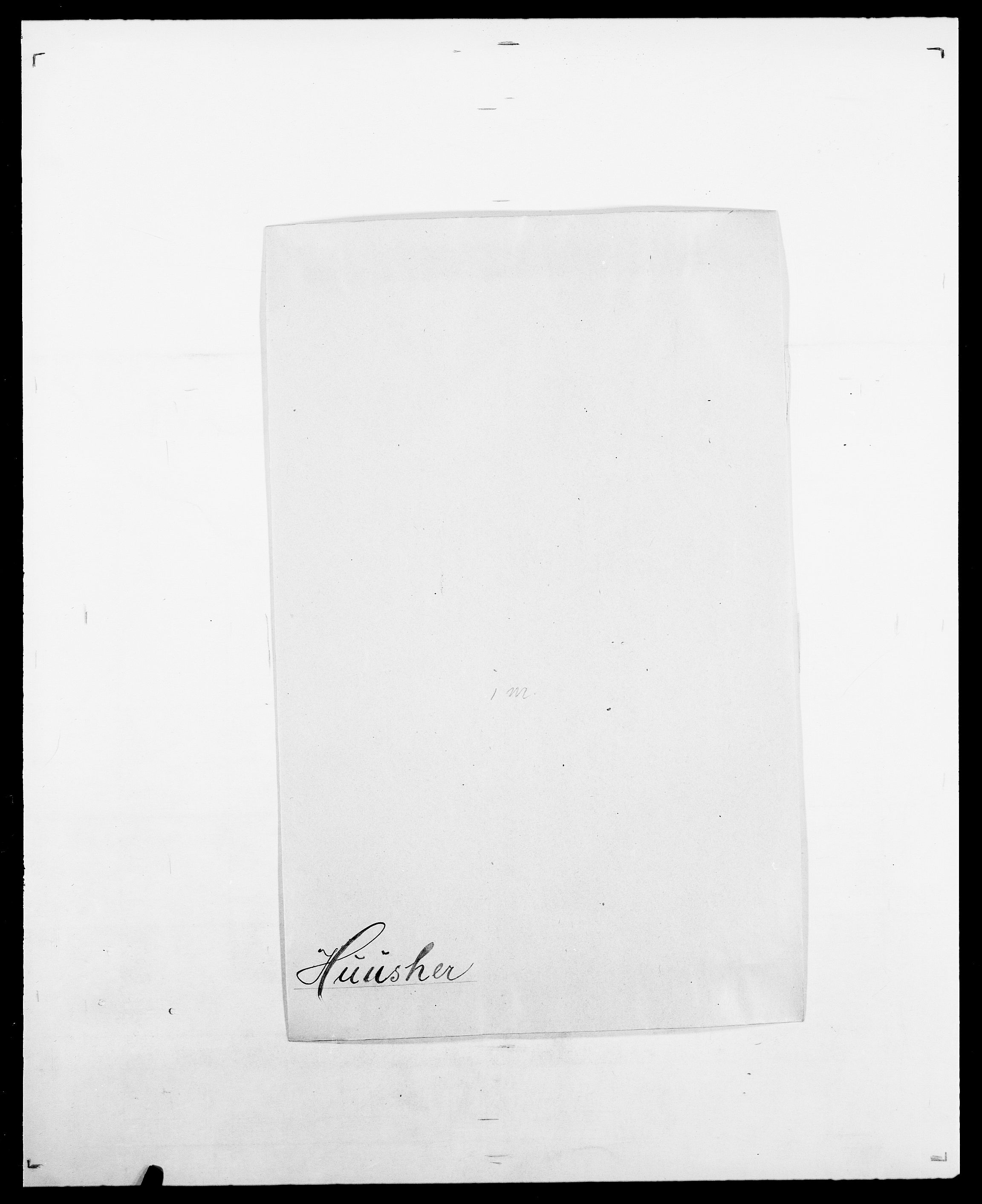 SAO, Delgobe, Charles Antoine - samling, D/Da/L0019: van der Hude - Joys, s. 108