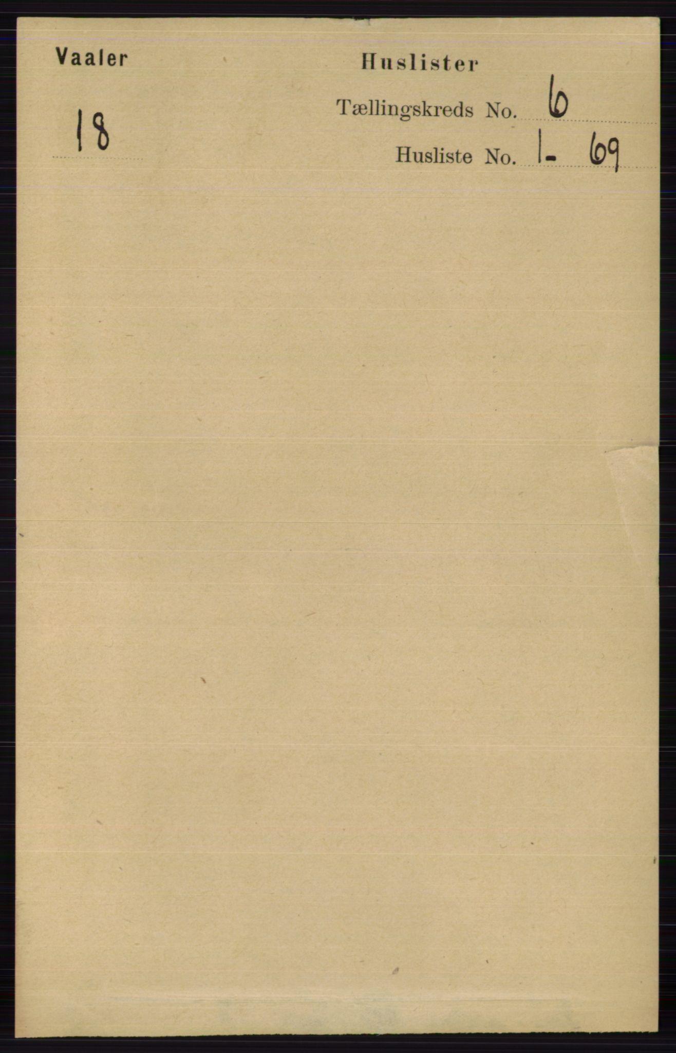 RA, Folketelling 1891 for 0426 Våler herred, 1891, s. 2392