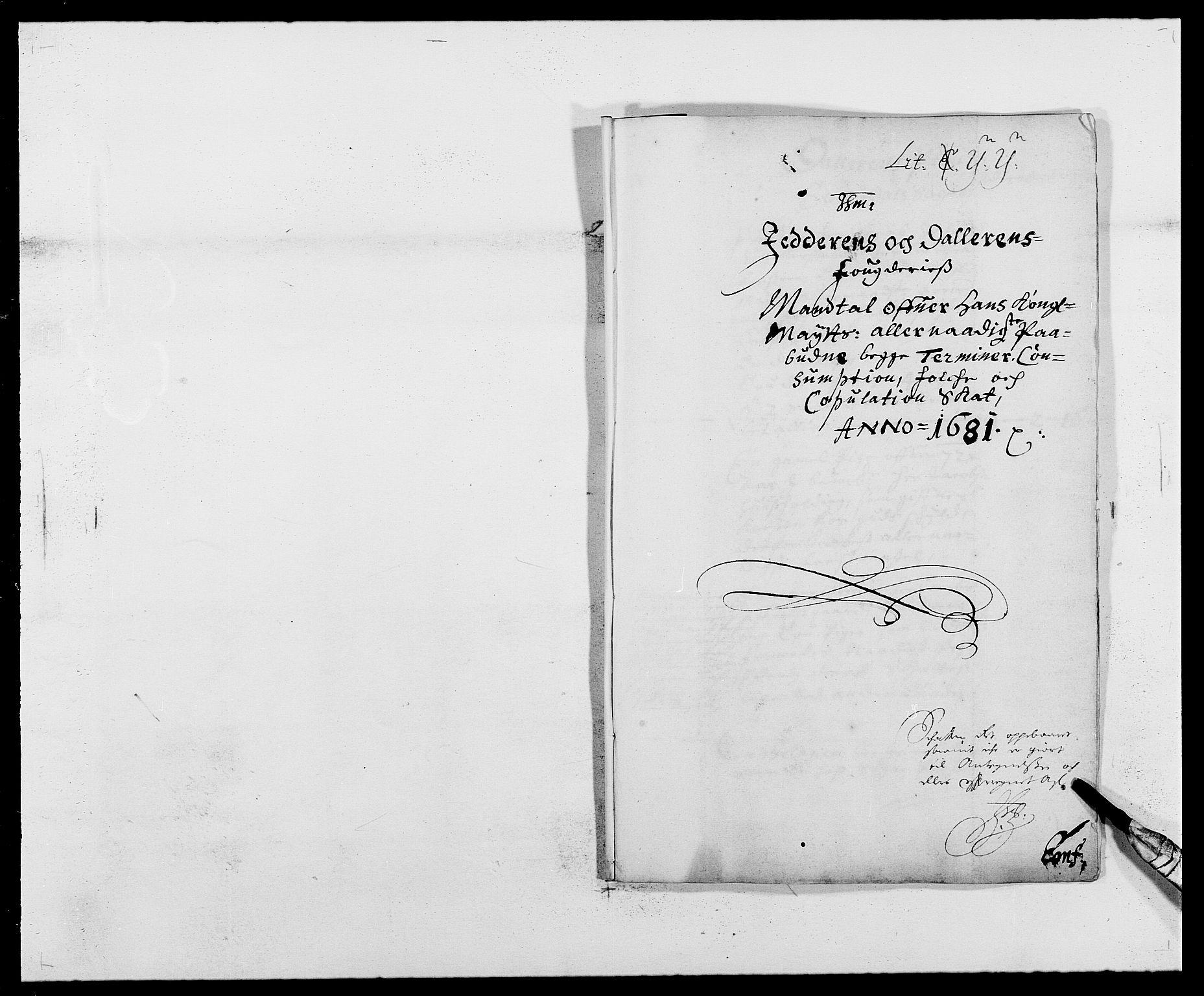 RA, Rentekammeret inntil 1814, Reviderte regnskaper, Fogderegnskap, R46/L2722: Fogderegnskap Jæren og Dalane, 1681, s. 152