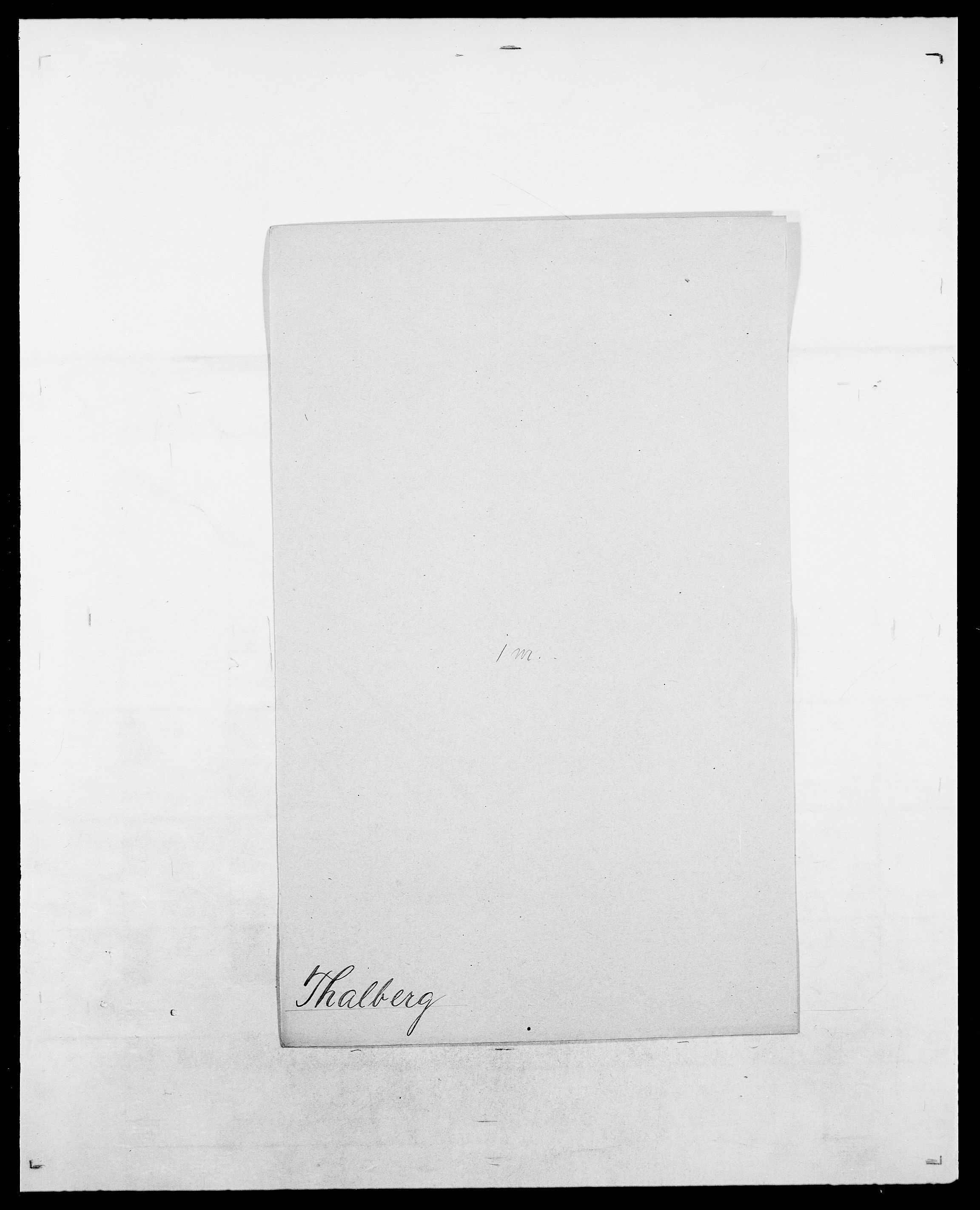 SAO, Delgobe, Charles Antoine - samling, D/Da/L0038: Svanenskjold - Thornsohn, s. 437