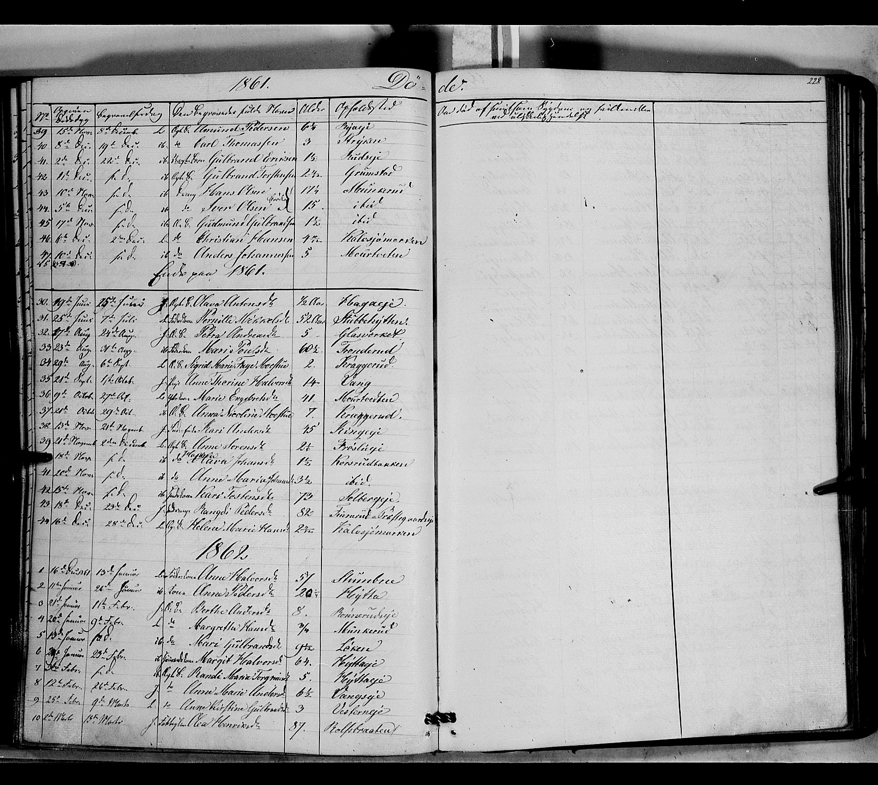 SAH, Jevnaker prestekontor, Ministerialbok nr. 7, 1858-1876, s. 228
