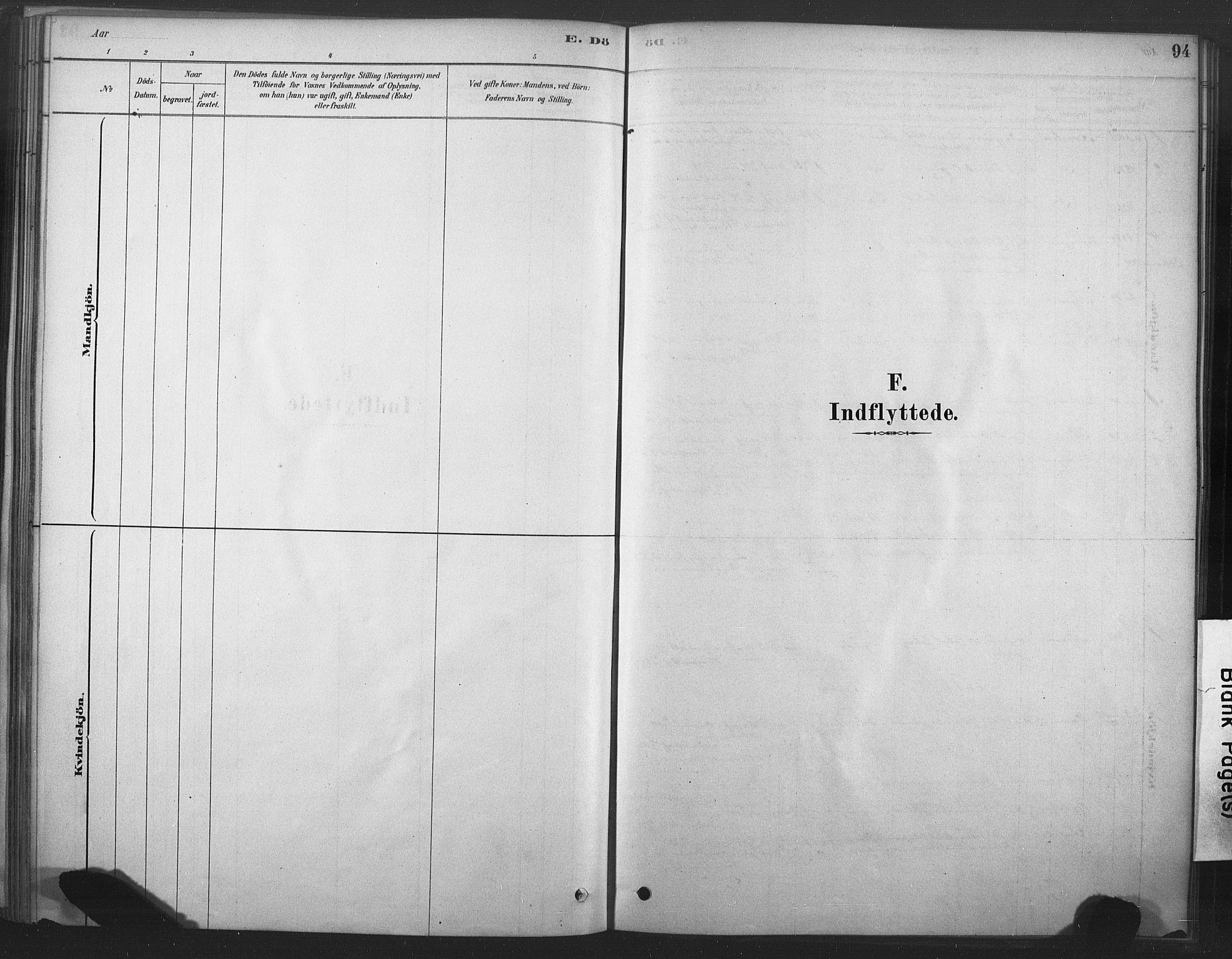 SAT, Ministerialprotokoller, klokkerbøker og fødselsregistre - Nord-Trøndelag, 719/L0178: Ministerialbok nr. 719A01, 1878-1900, s. 94