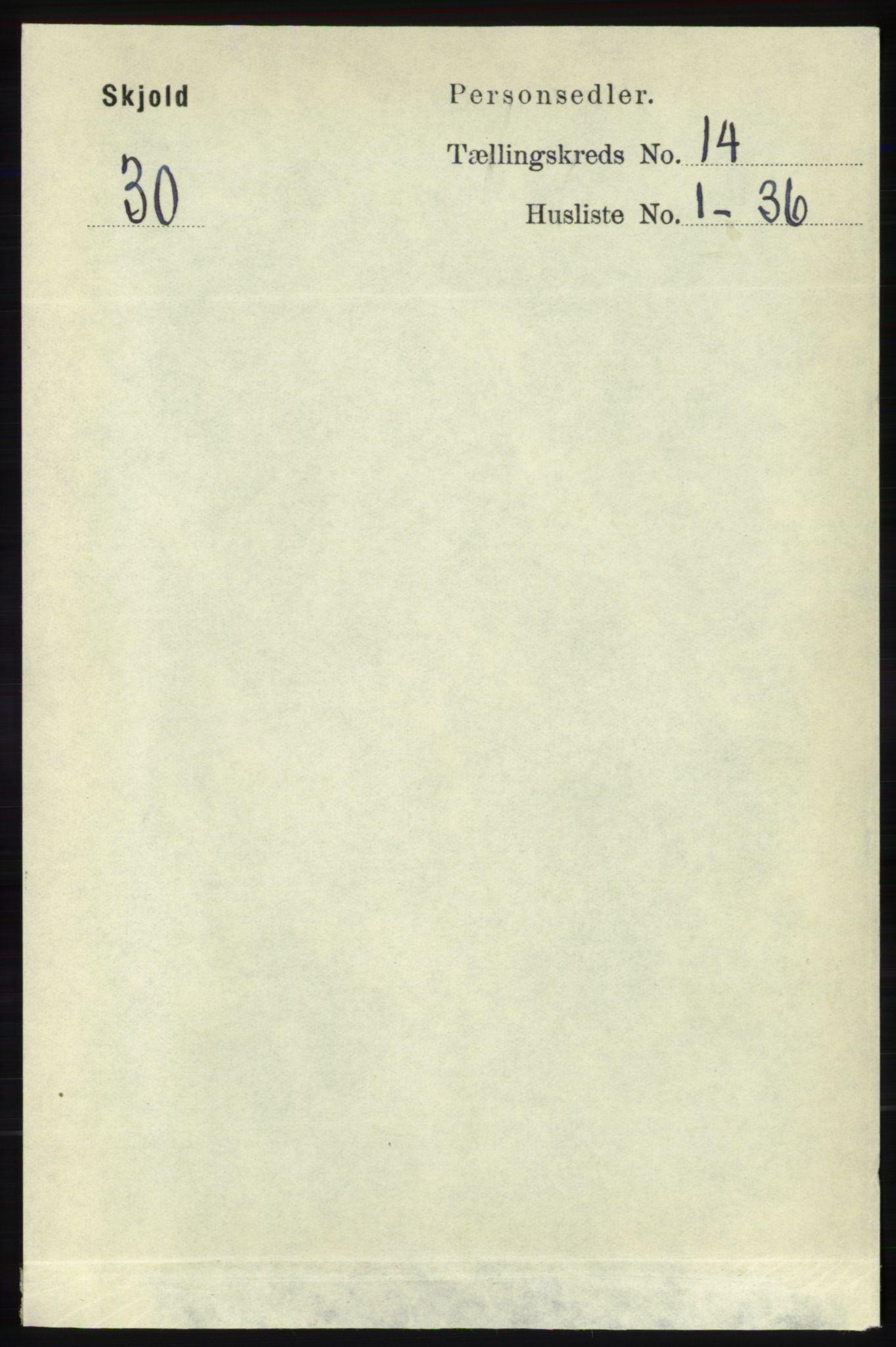 RA, Folketelling 1891 for 1154 Skjold herred, 1891, s. 2566
