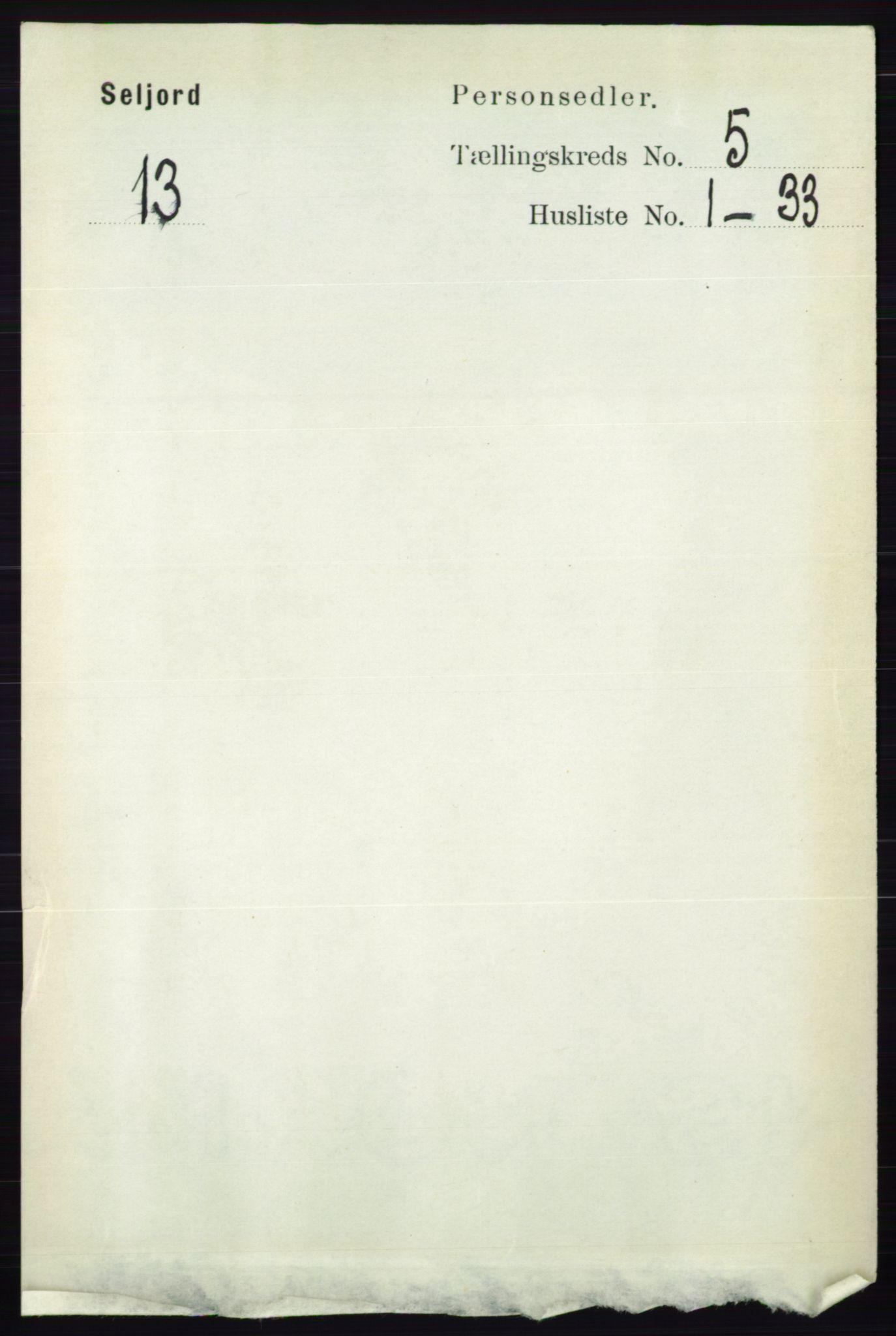 RA, Folketelling 1891 for 0828 Seljord herred, 1891, s. 1800