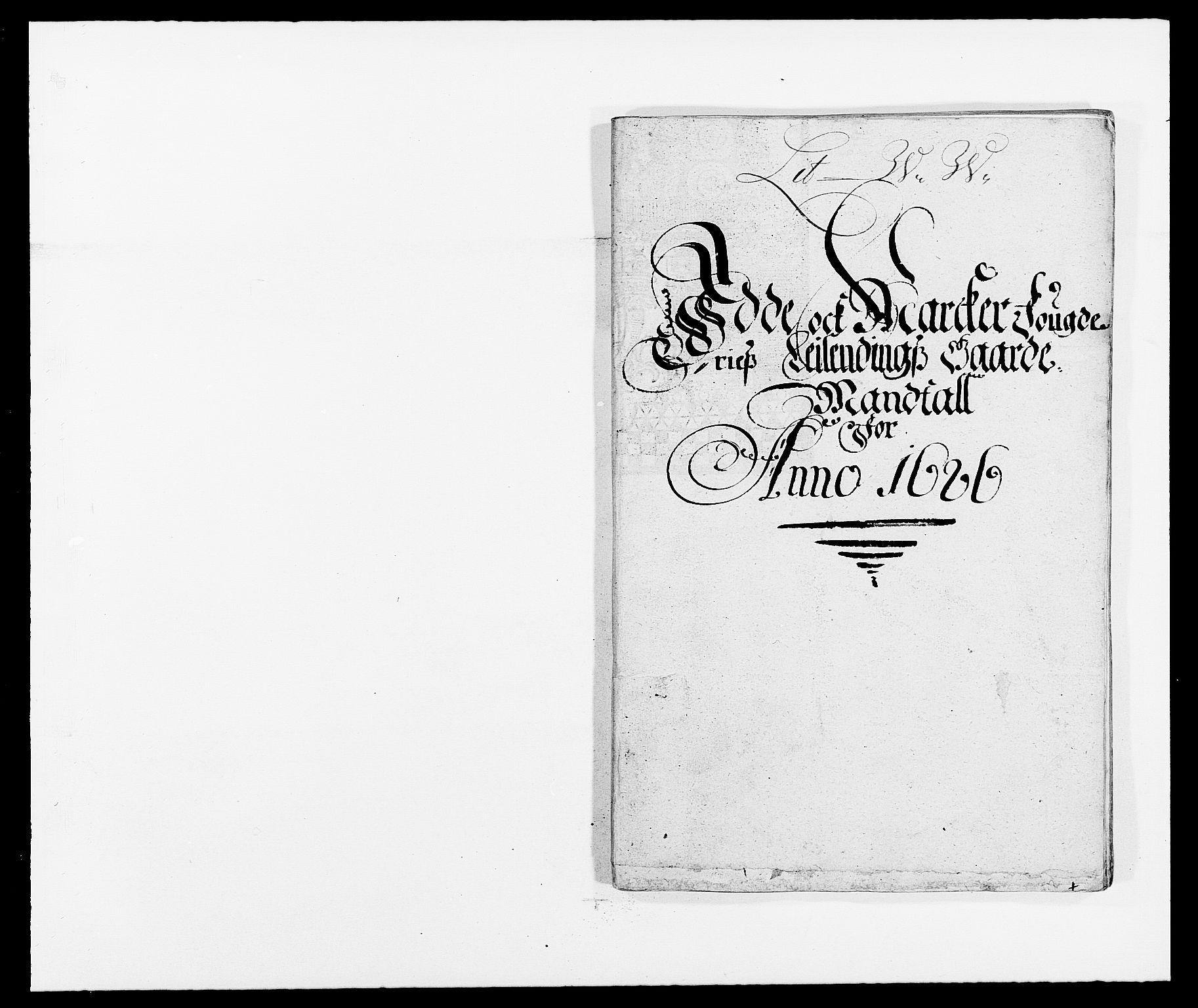 RA, Rentekammeret inntil 1814, Reviderte regnskaper, Fogderegnskap, R01/L0006: Fogderegnskap Idd og Marker, 1685-1686, s. 281