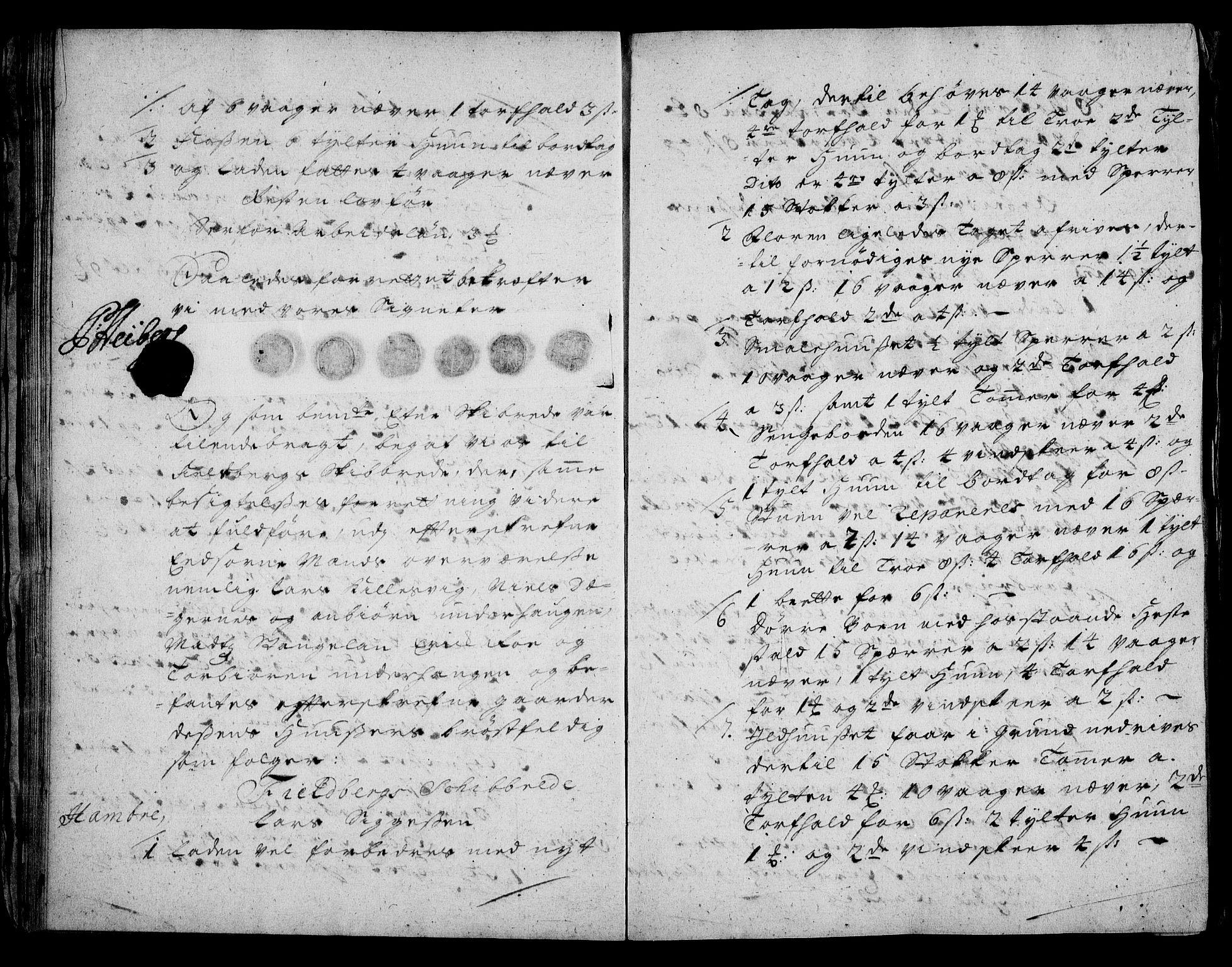 RA, Rentekammeret inntil 1814, Realistisk ordnet avdeling, On/L0003: [Jj 4]: Kommisjonsforretning over Vilhelm Hanssøns forpaktning av Halsnøy klosters gods, 1721-1729, s. 22