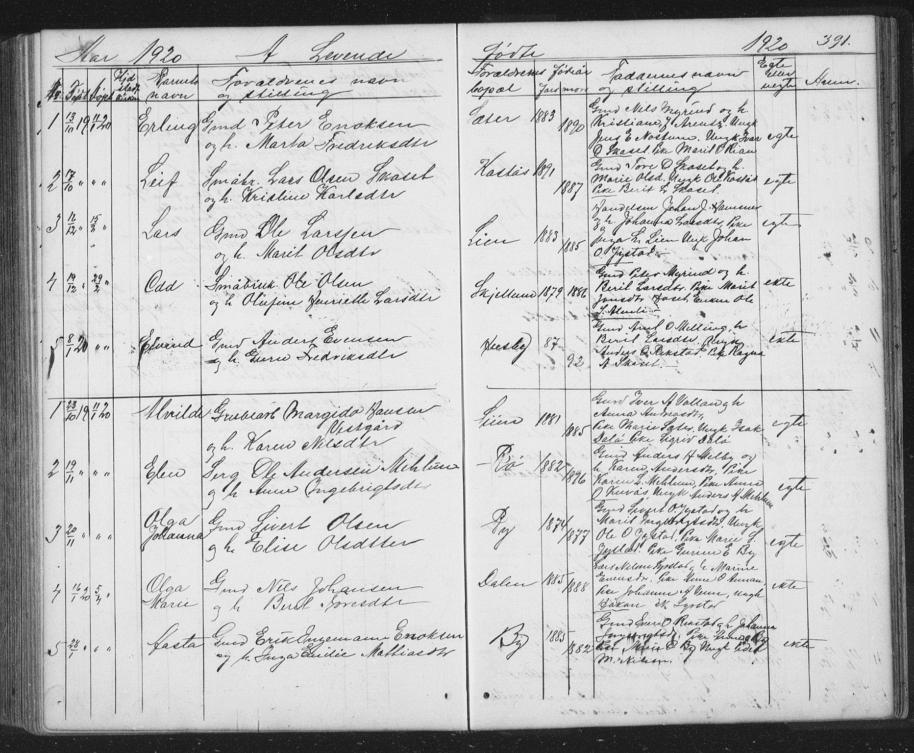 SAT, Ministerialprotokoller, klokkerbøker og fødselsregistre - Sør-Trøndelag, 667/L0798: Klokkerbok nr. 667C03, 1867-1929, s. 391